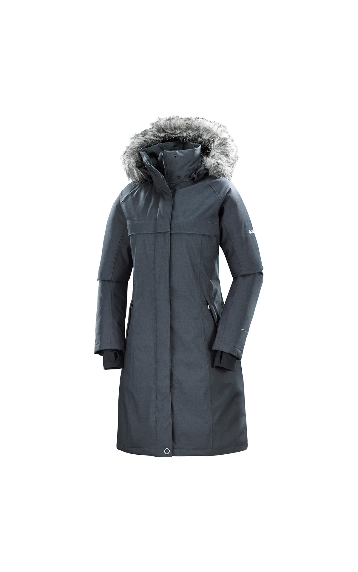 Grey coat Columbia