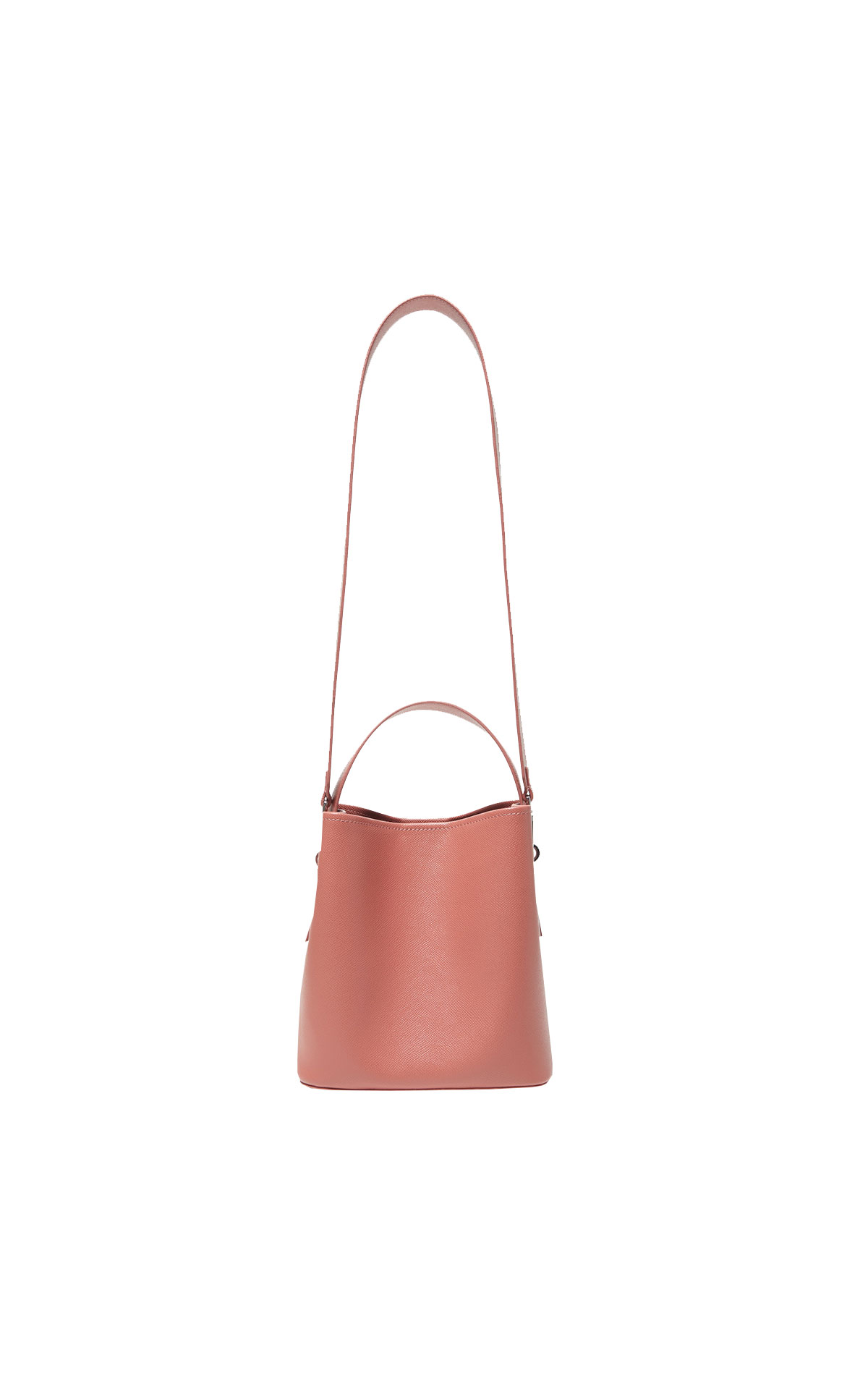 Brown bucket bag Adolfo Dominguez