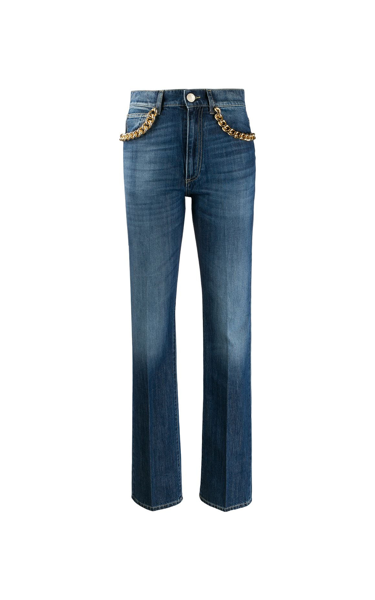 Jeans with chains Pinko