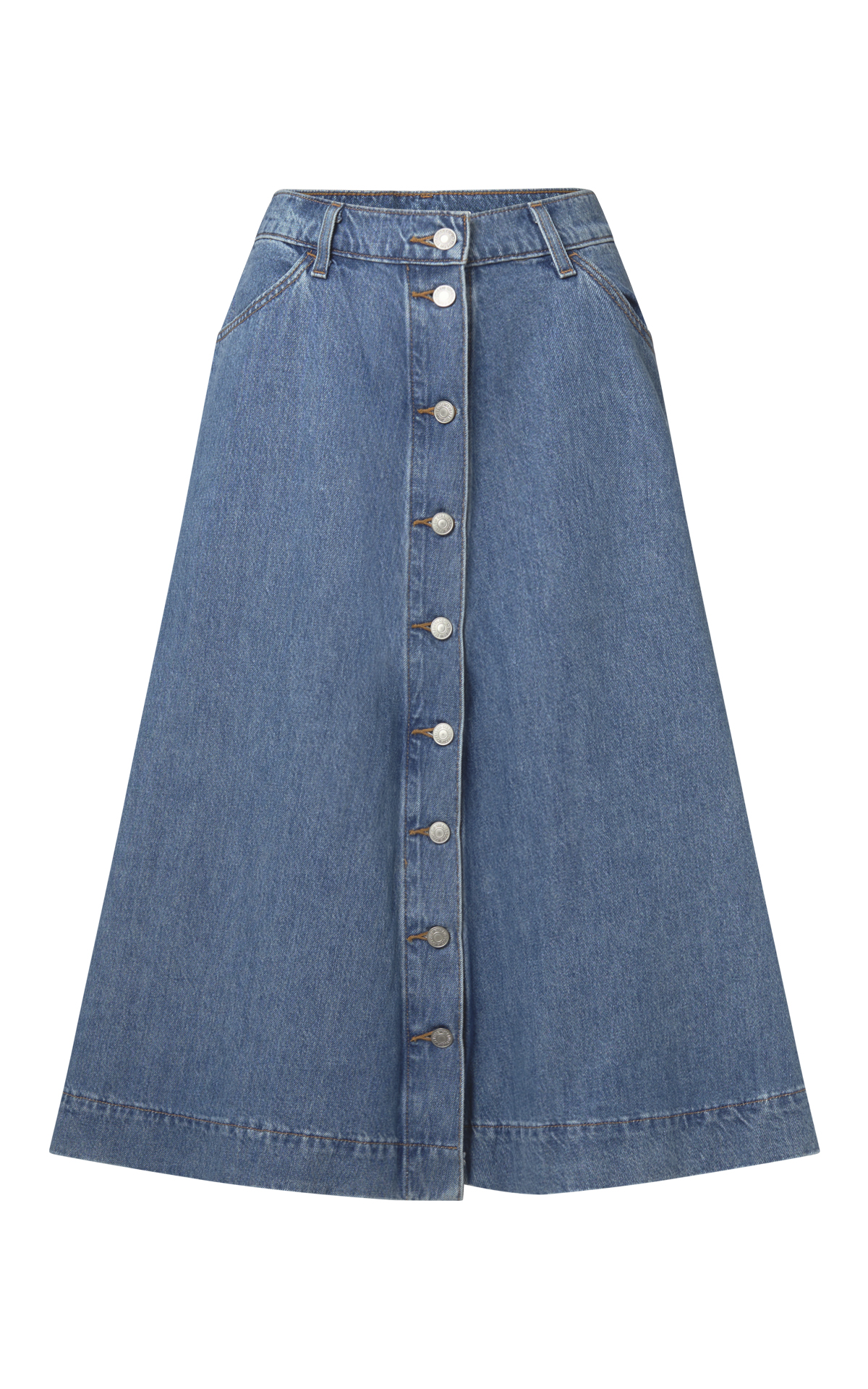 Denim skirt with buttons Levi's