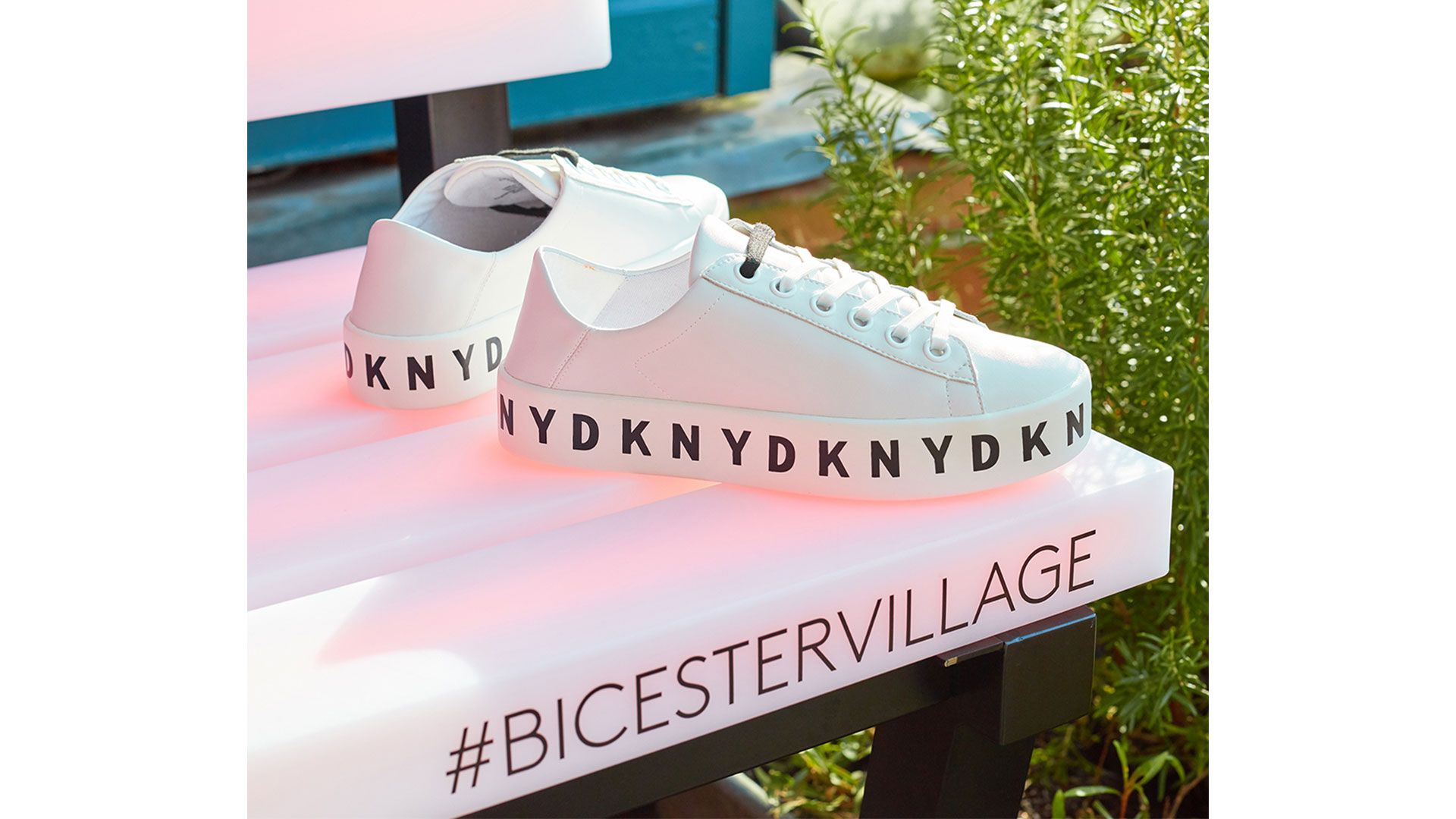 DKNY trainers at Bicester Village