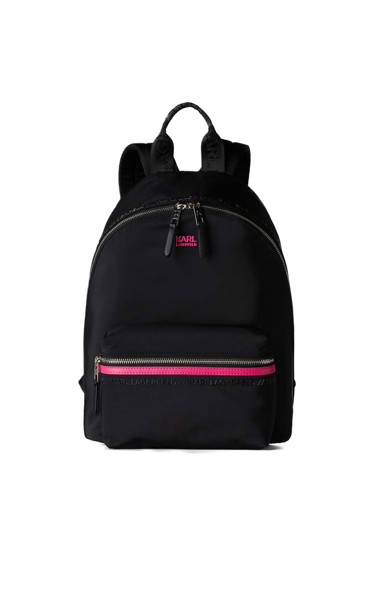 Karl Lagerfeld Athleisure backpack at The Bicester Village Shopping Collection