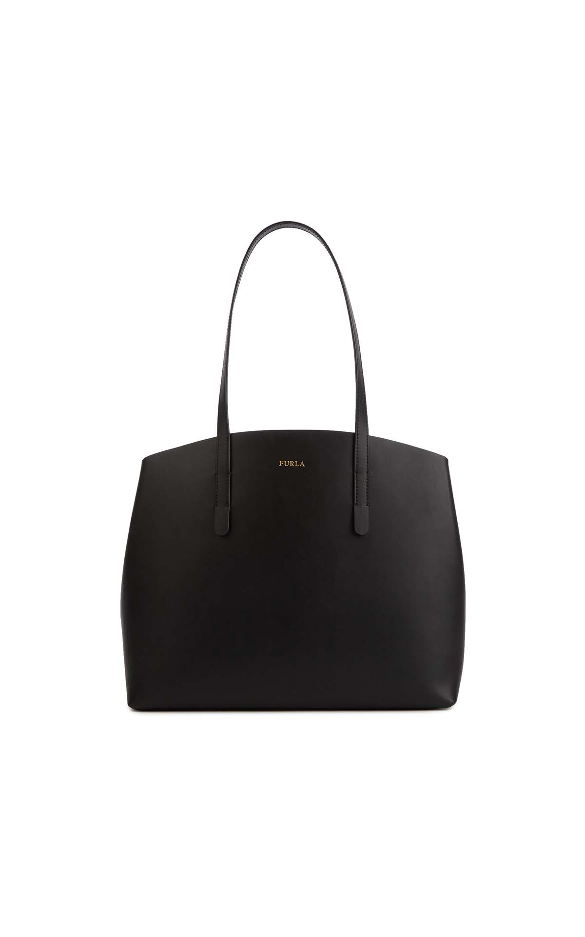 Furla Paradise Medium Tote Bag Black at The Bicester Village Shopping Collection