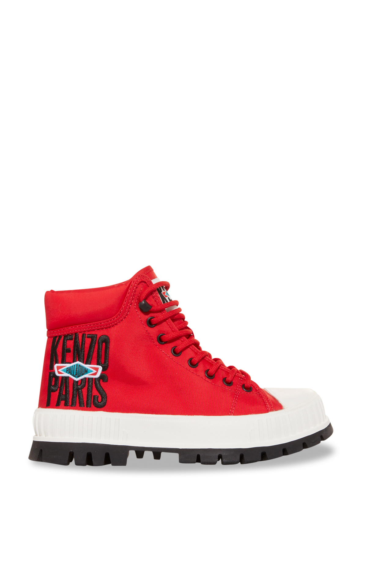 La Vallée Village Kenzo Red high-top shoes