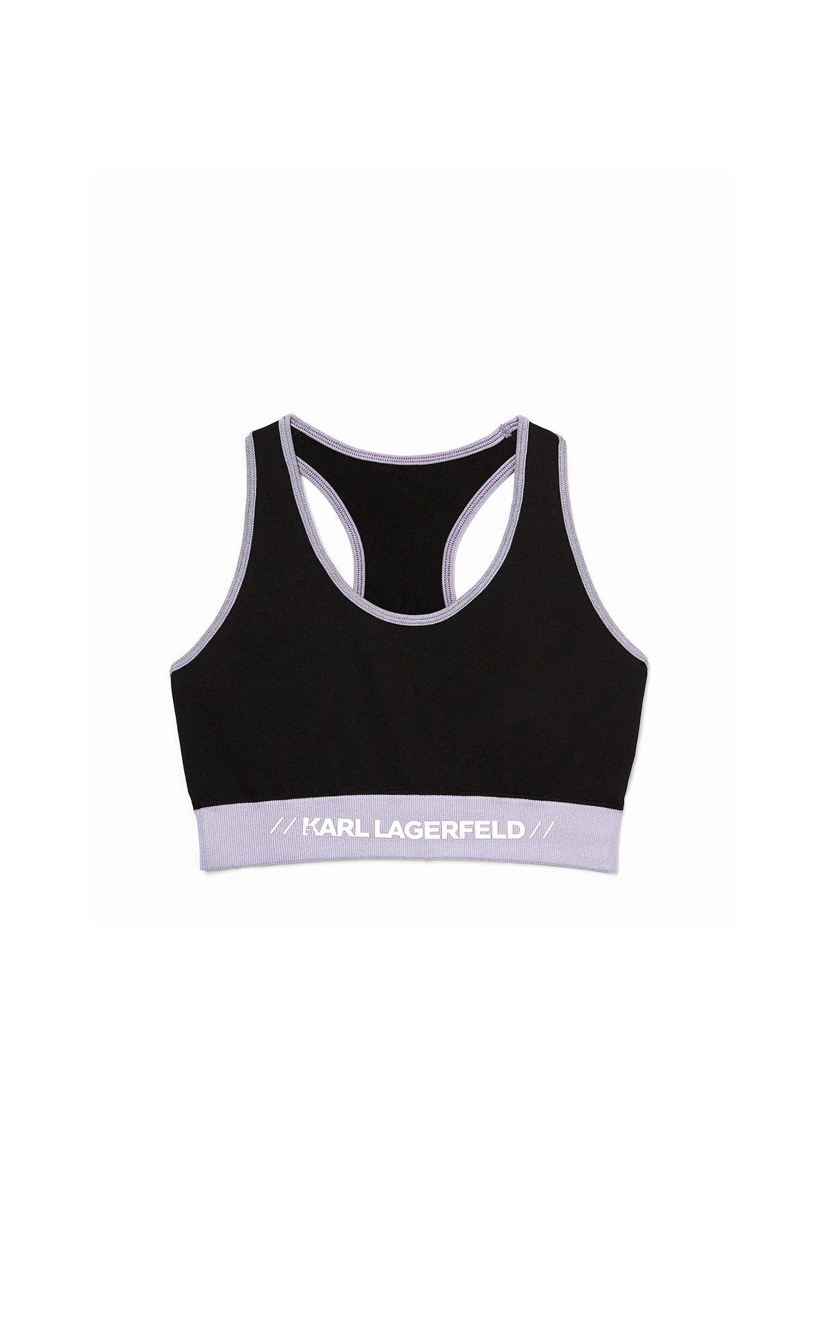 Karl Lagerfeld athleisure seamless top at The Bicester Village Shopping Collection