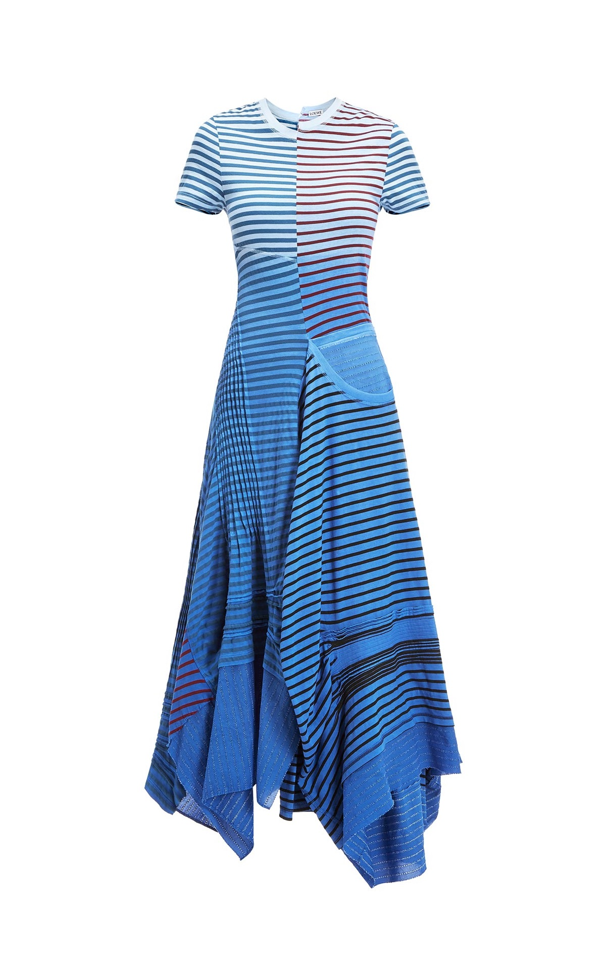 Striped blue dress Loewe
