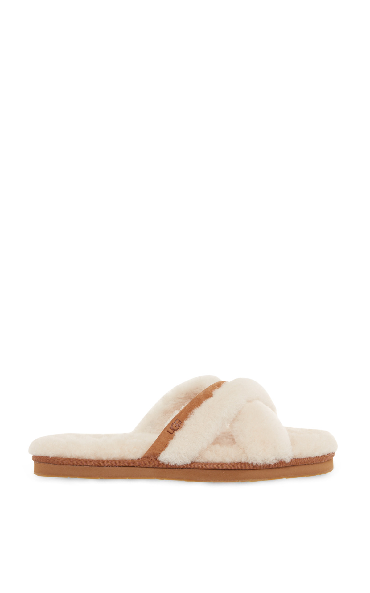 UGG fur Abela sandals la vallée village