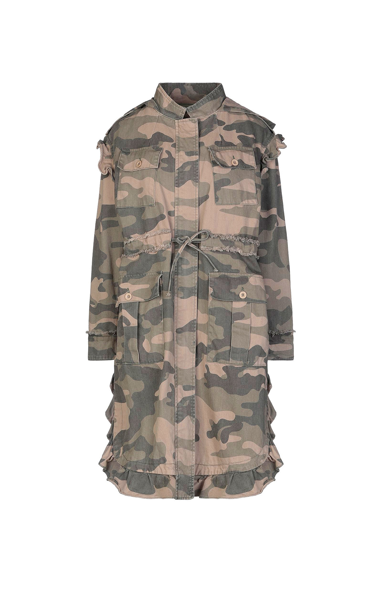Camouflage parka TWINSET