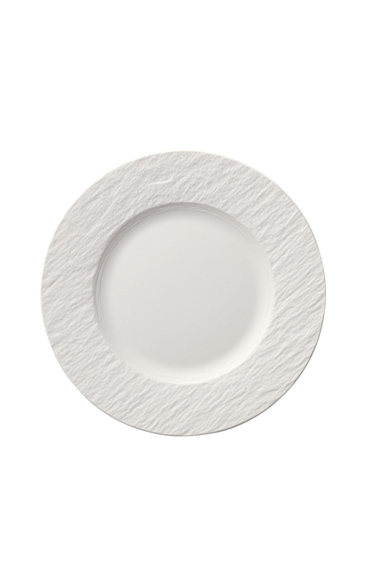 Villeroy and Boch Manufacture blanc flat plate 27cm from Bicester Village
