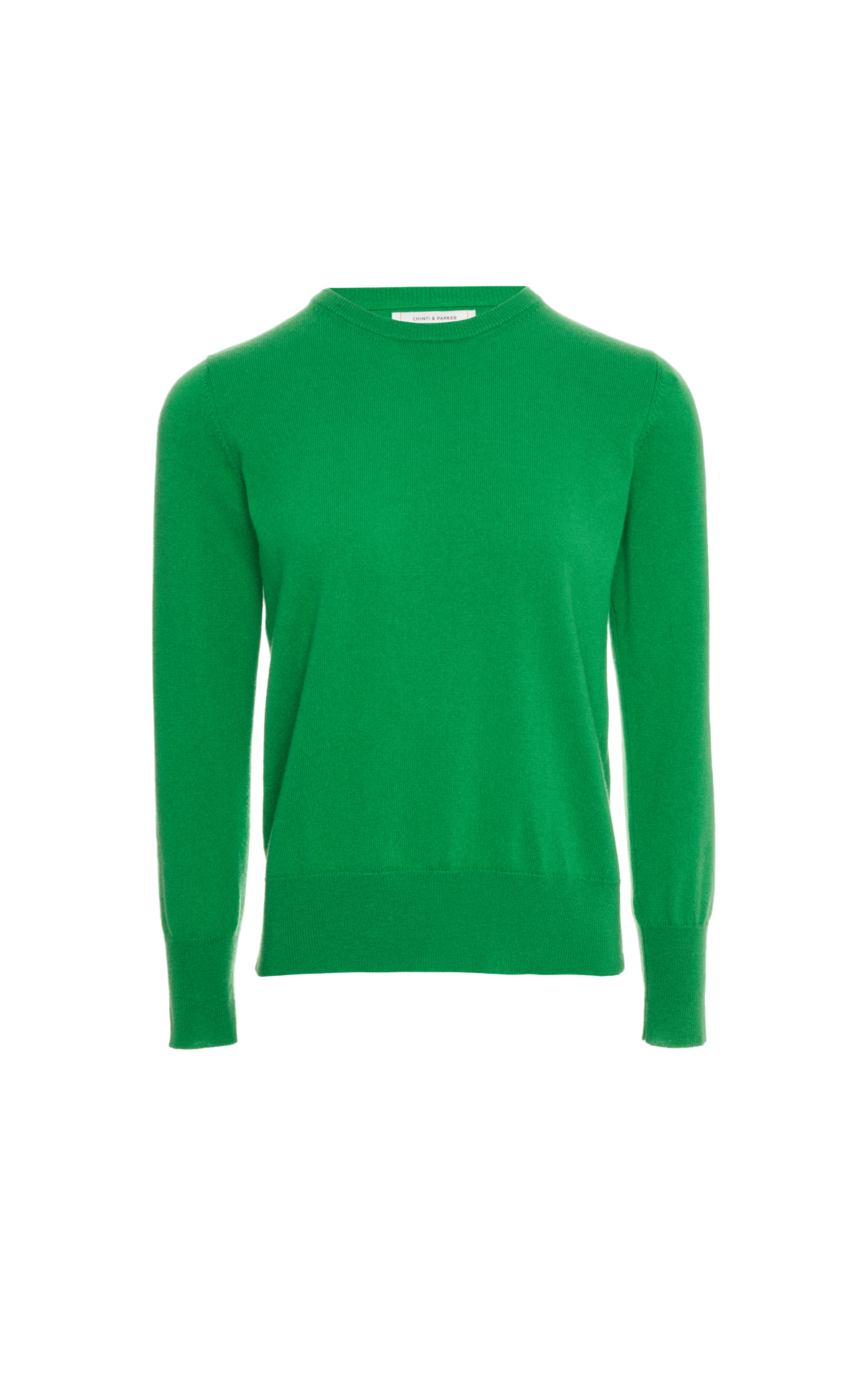 Chinti & Parker Apple crew neck sweater from Bicester Village