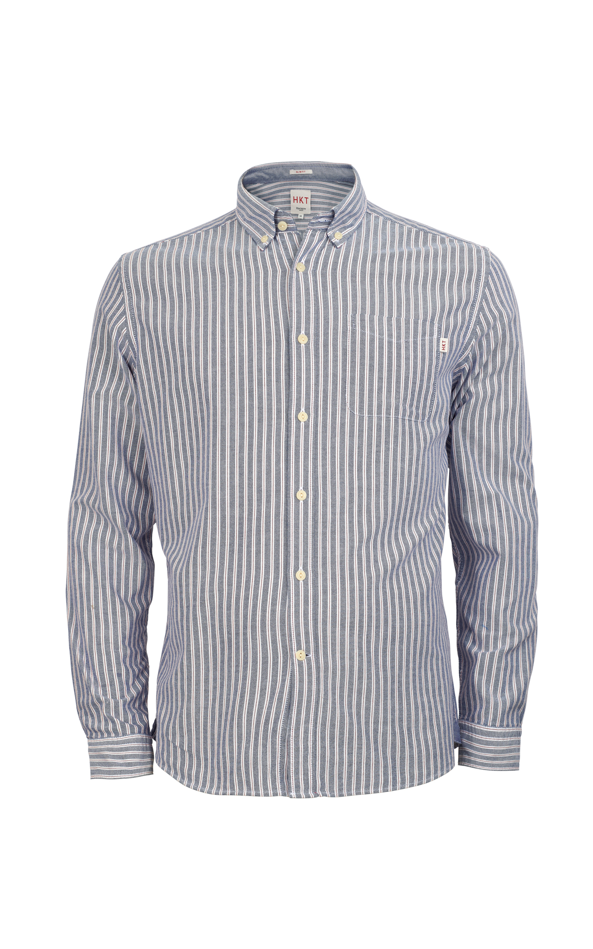 Blue striped shirt Hackett london