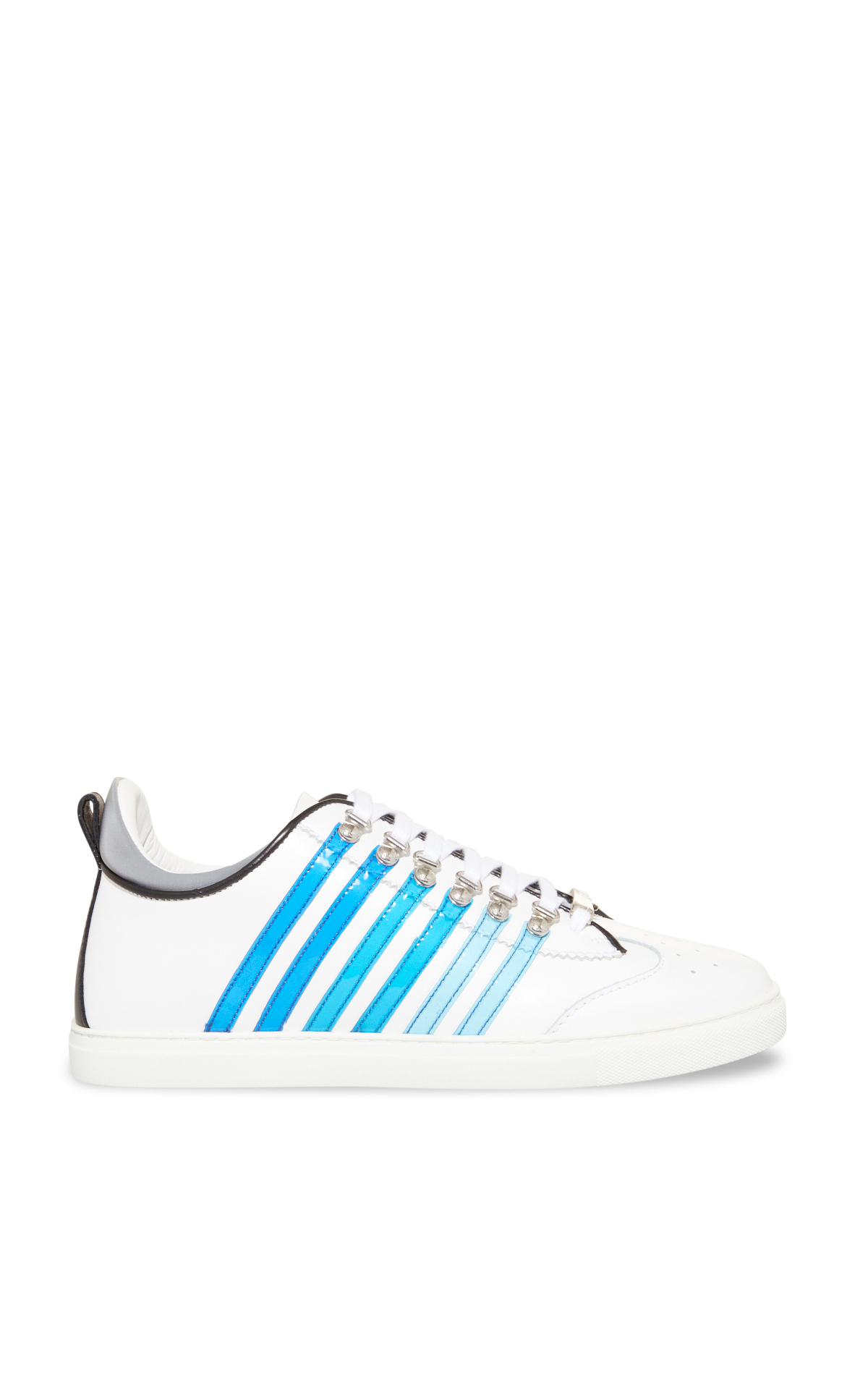 La Vallée Village Dsquared2 Blue and white sneakers