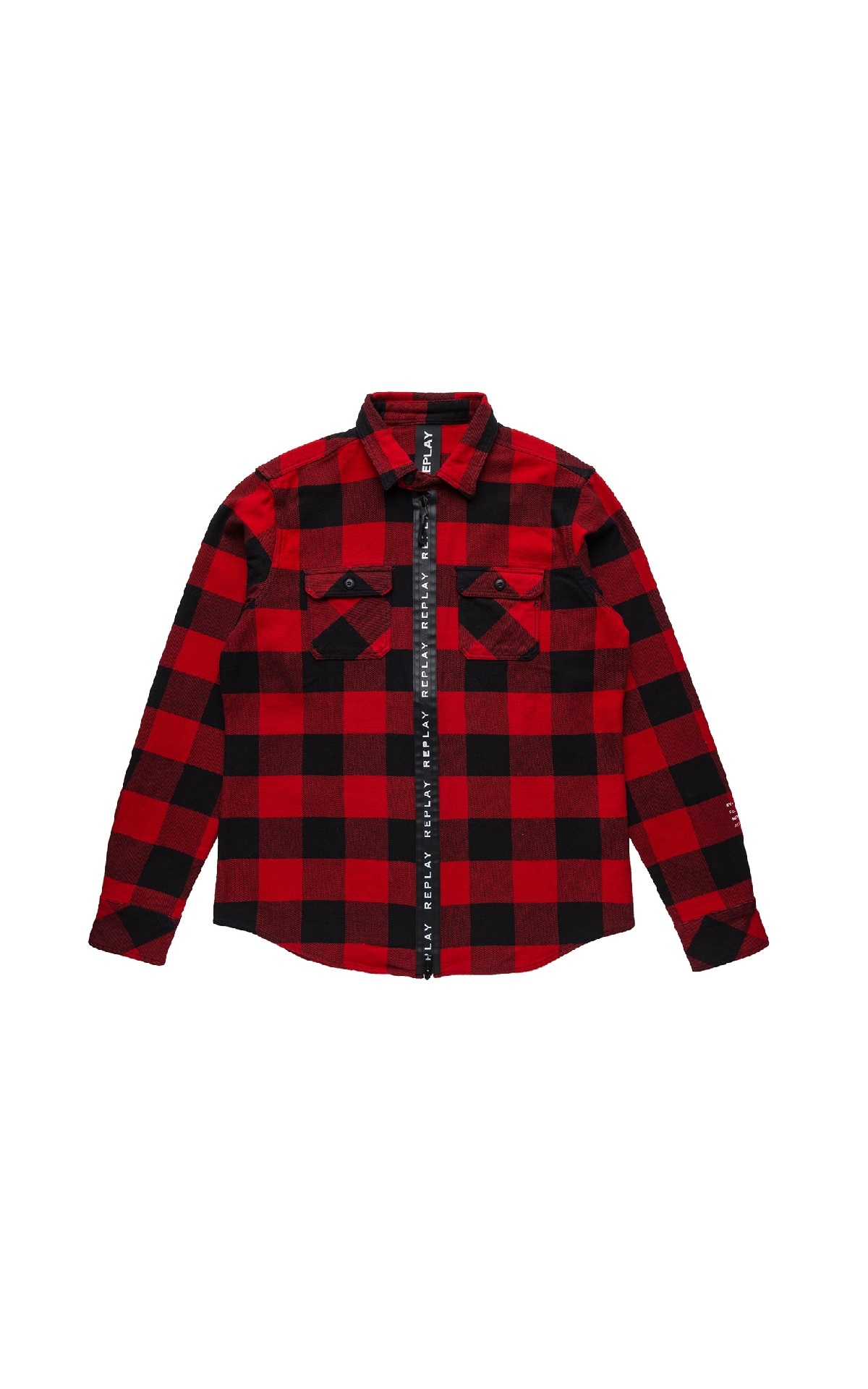 Red checked shirt Replay