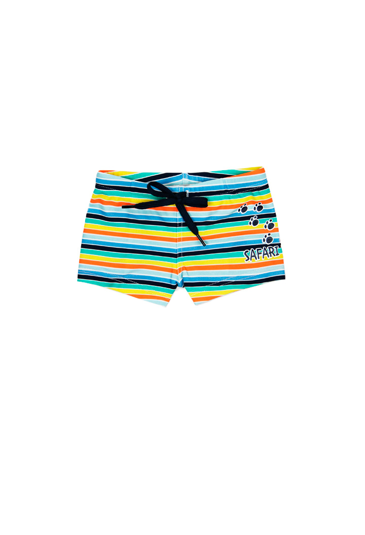 Striped swimsuit for boy Bóboli