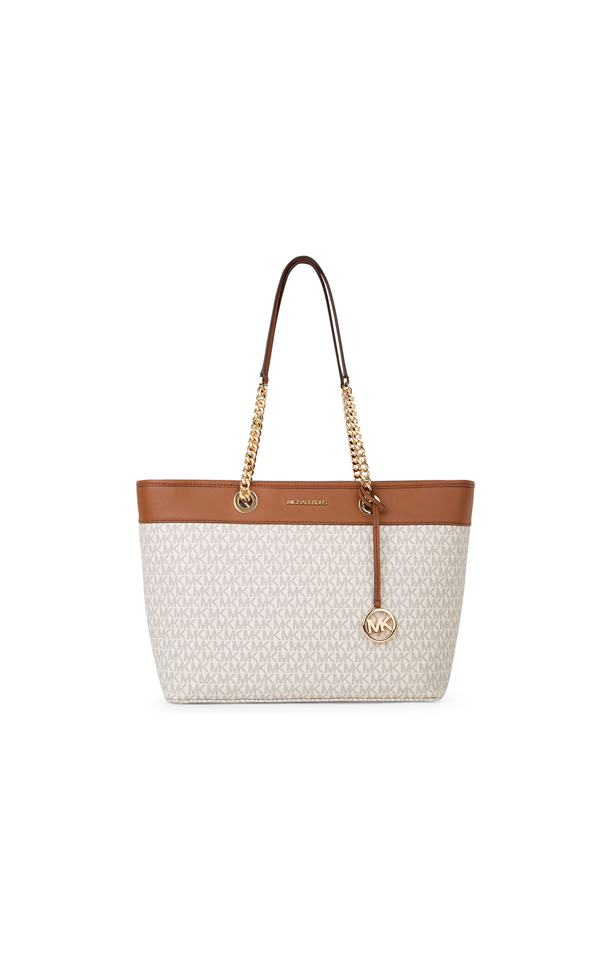 Michael Kors Shannia large ew chain tote at The Bicester Village Shopping Collection