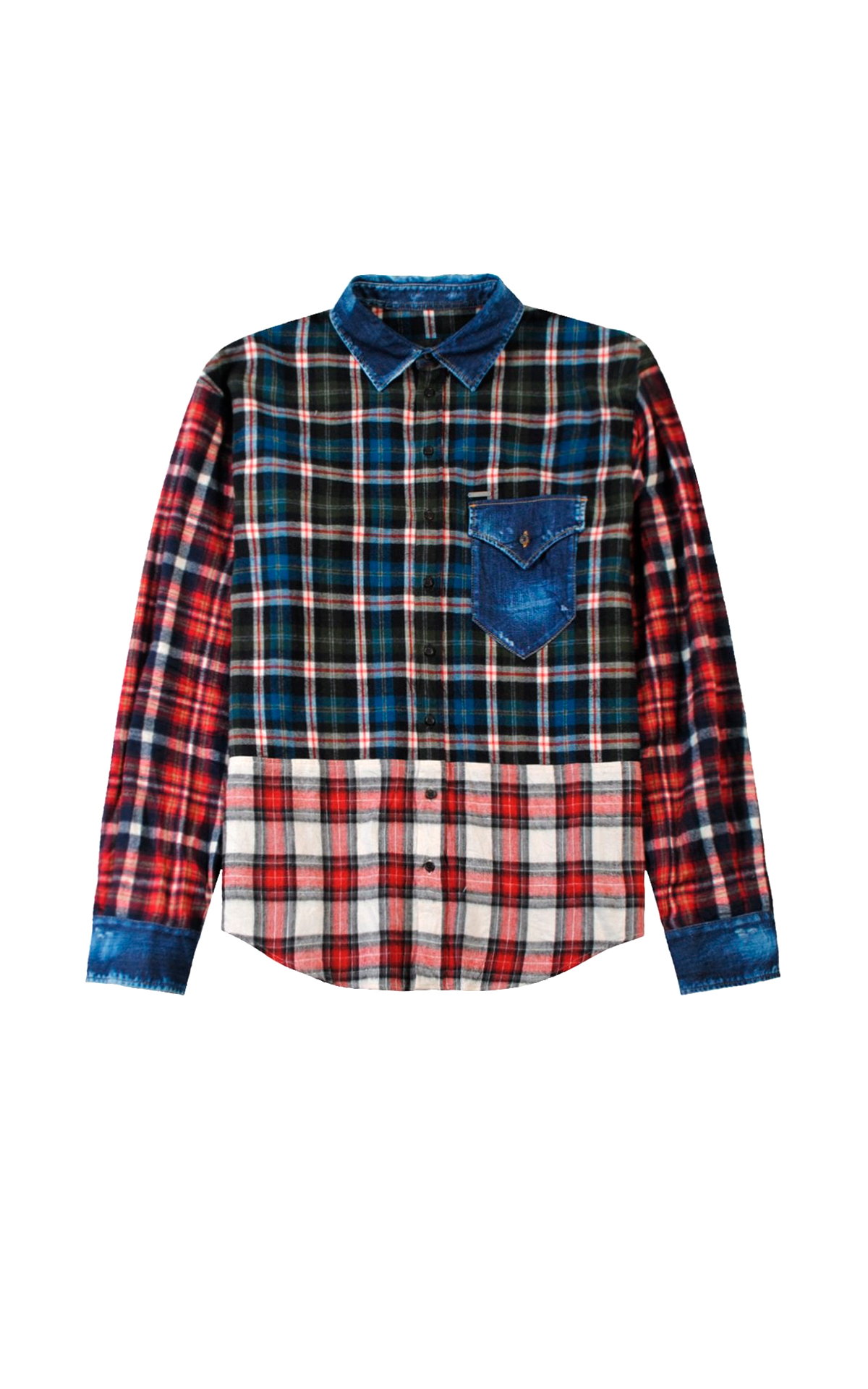 Checked shirt Dsquared2