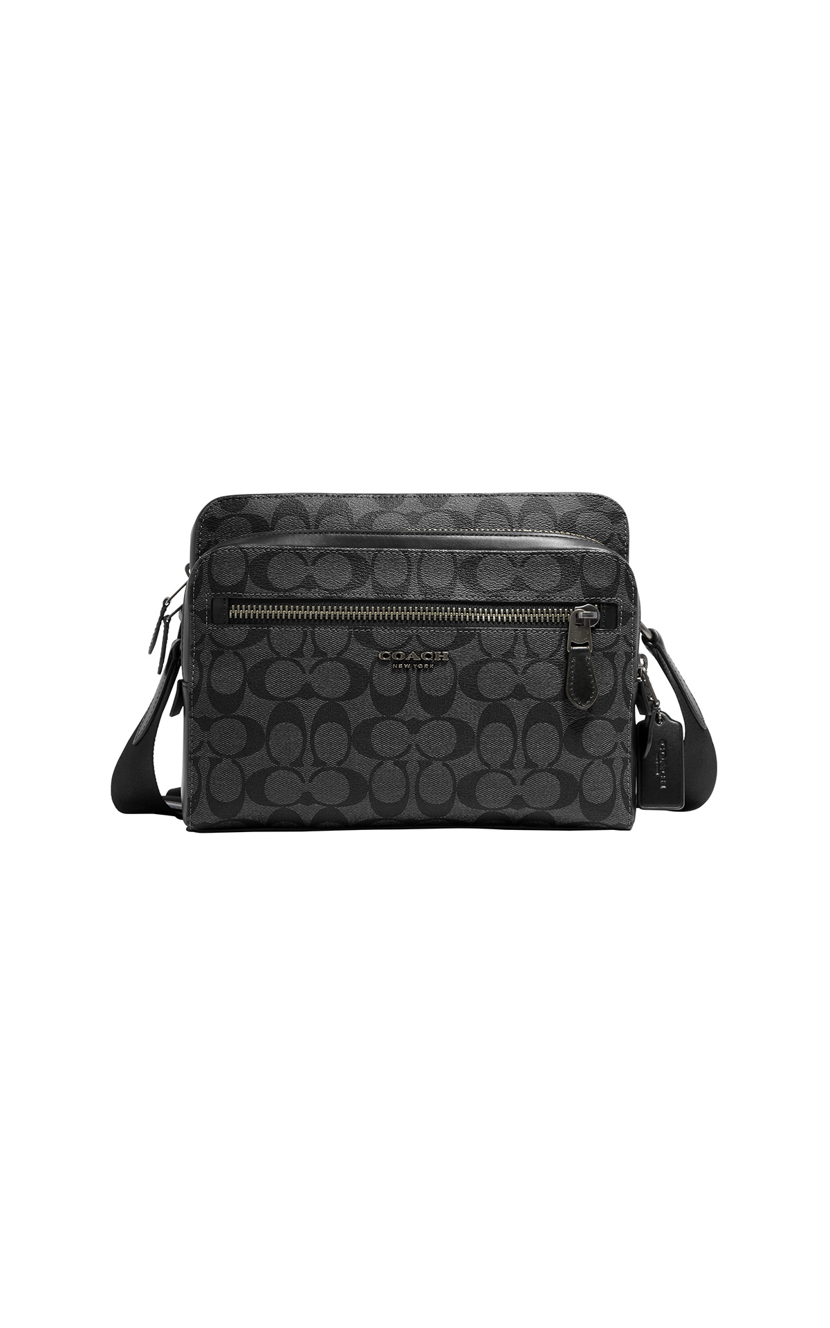 Coach Men's West Camera Bag in Signature at The Bicester Village Shopping Collection