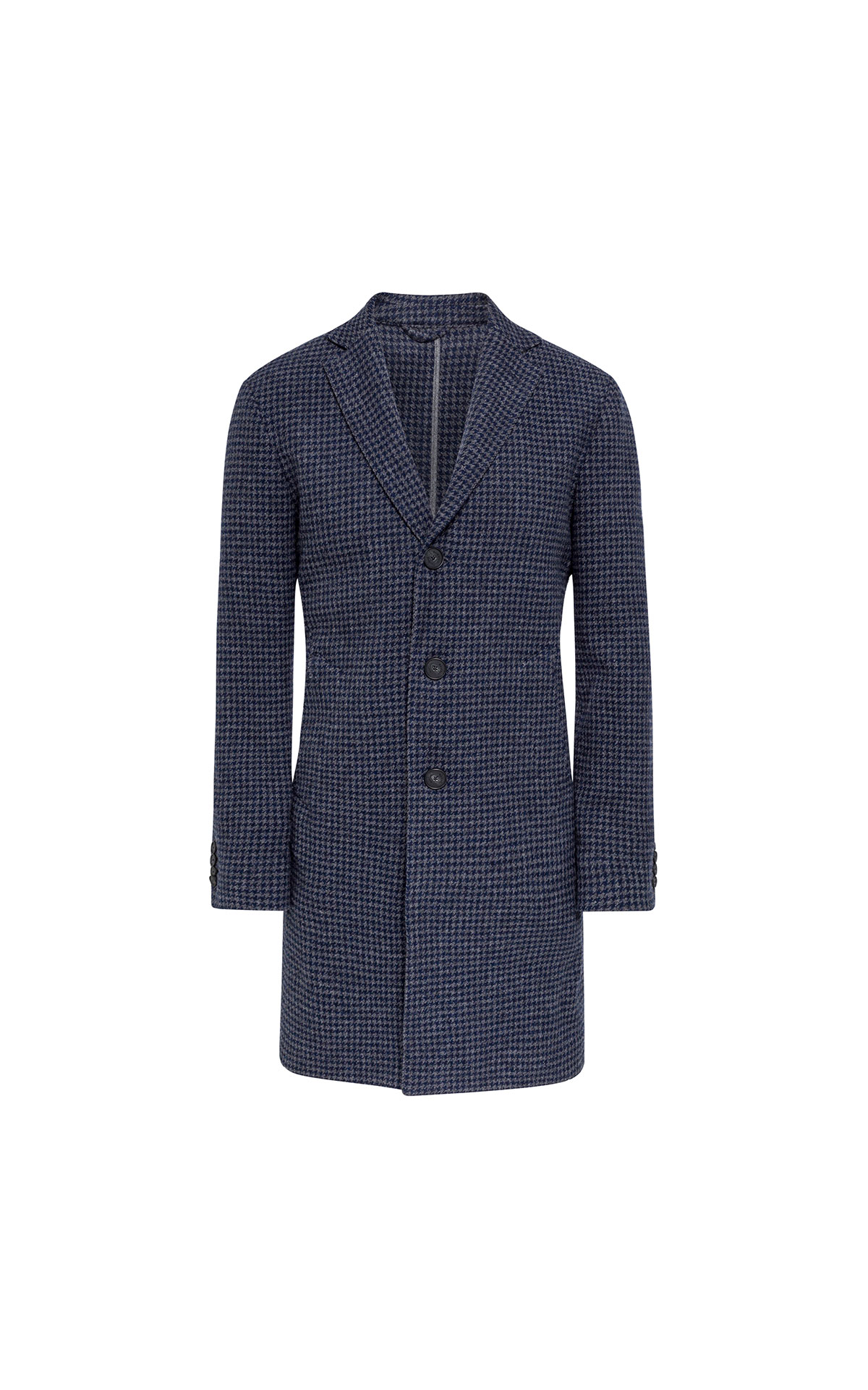Hackett Unstructured houndstooth coat from Bicester Village