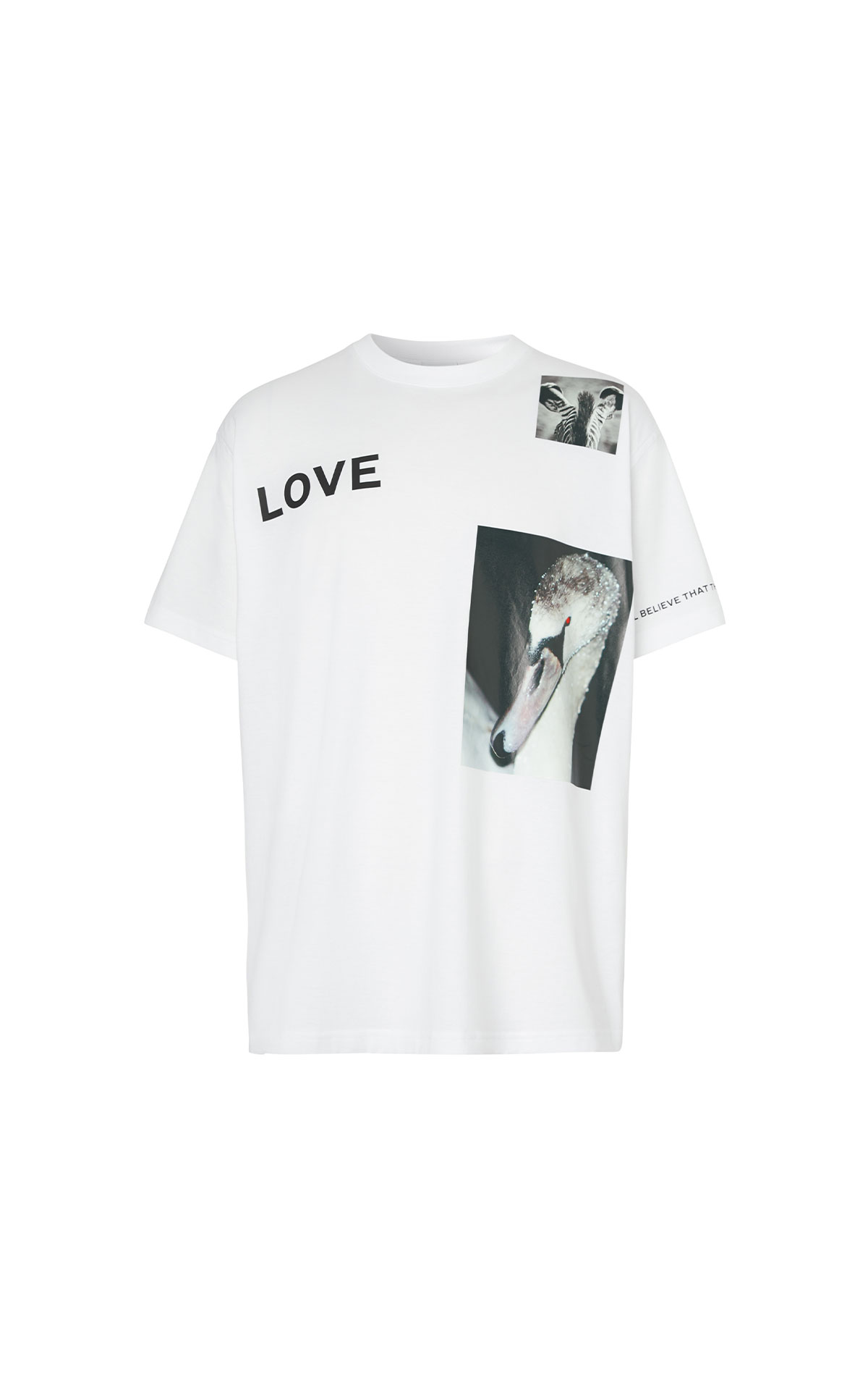 Burberry Men's jerseywear love t-shirt from Bicester Village