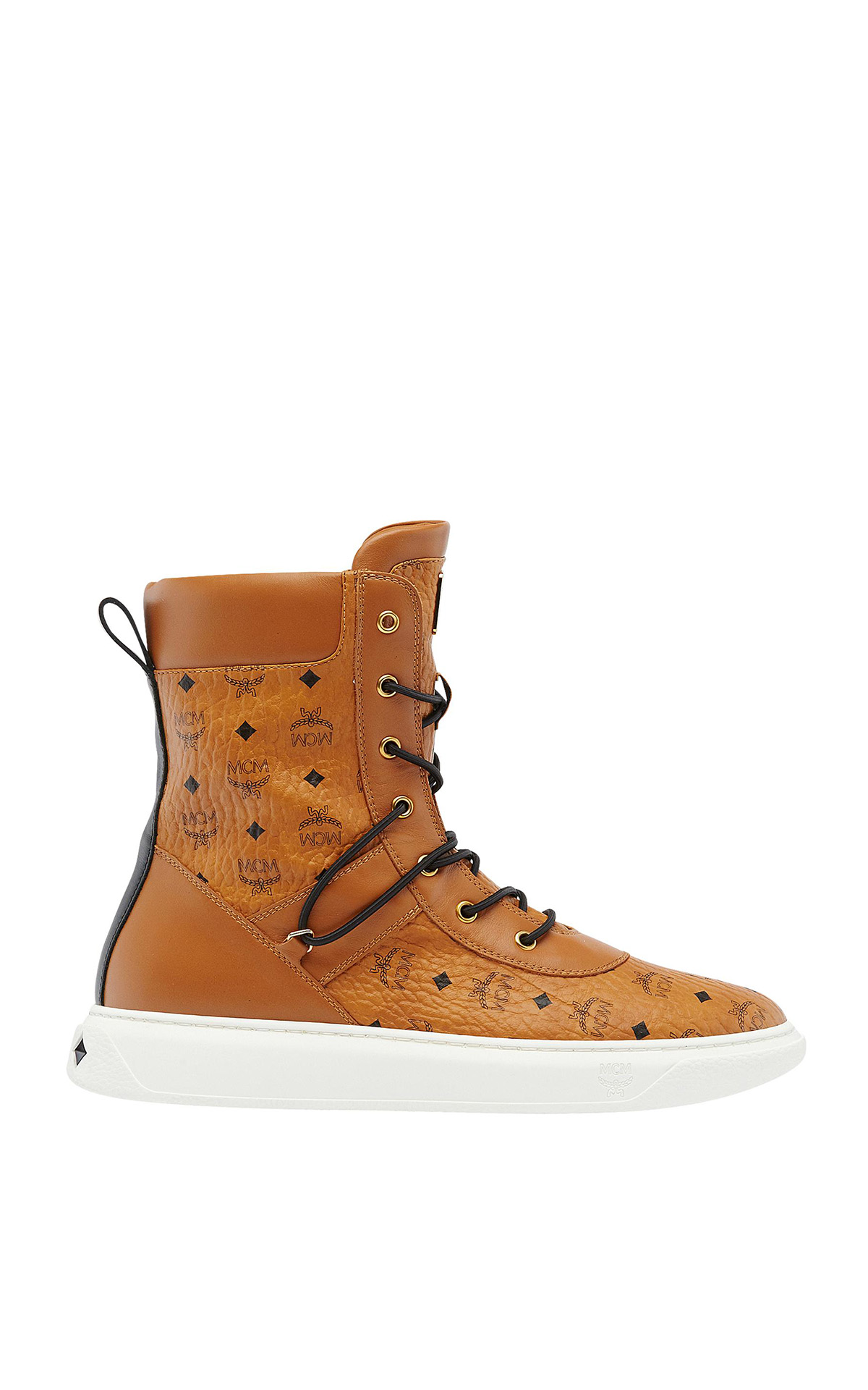 MCM Logo group boots from Bicester Village
