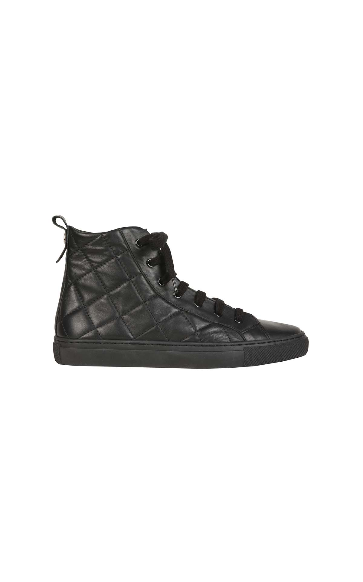 Claudie Pierlot Aria black trainer at The Bicester Village Shopping Collection