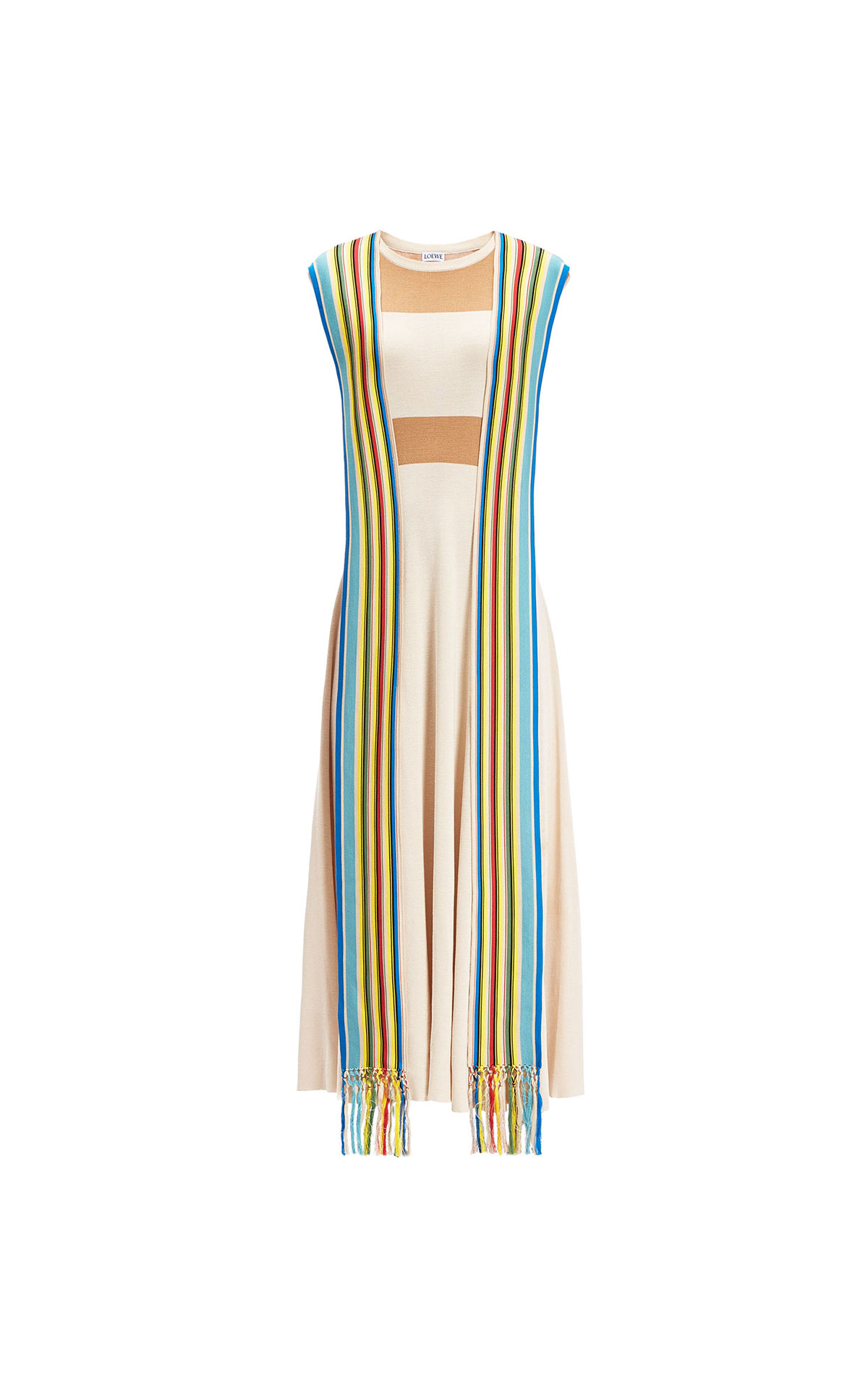 Loewe Multicolour knit dress