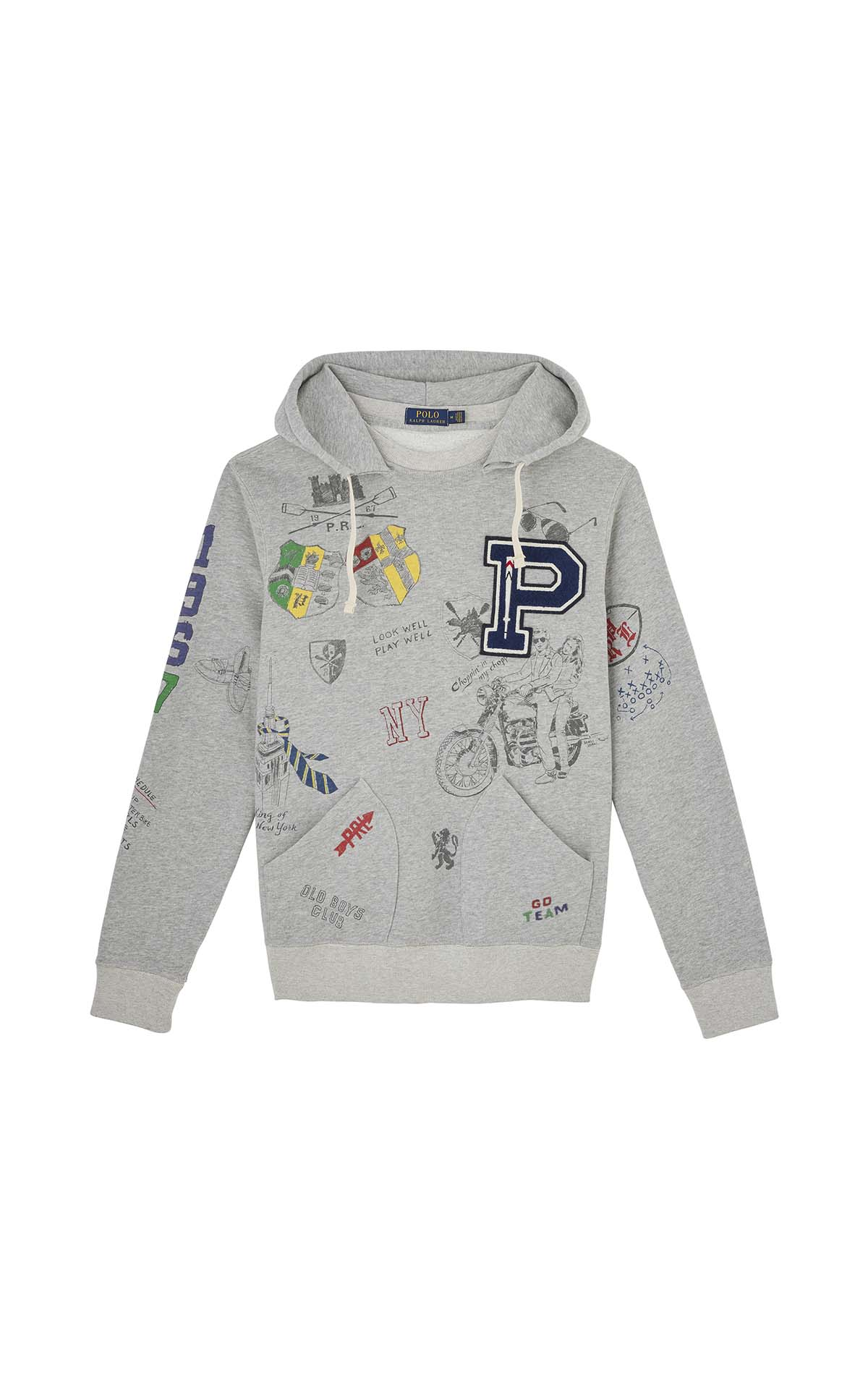 Polo Ralph Lauren Scribble hood at The Bicester Village Shopping Collection