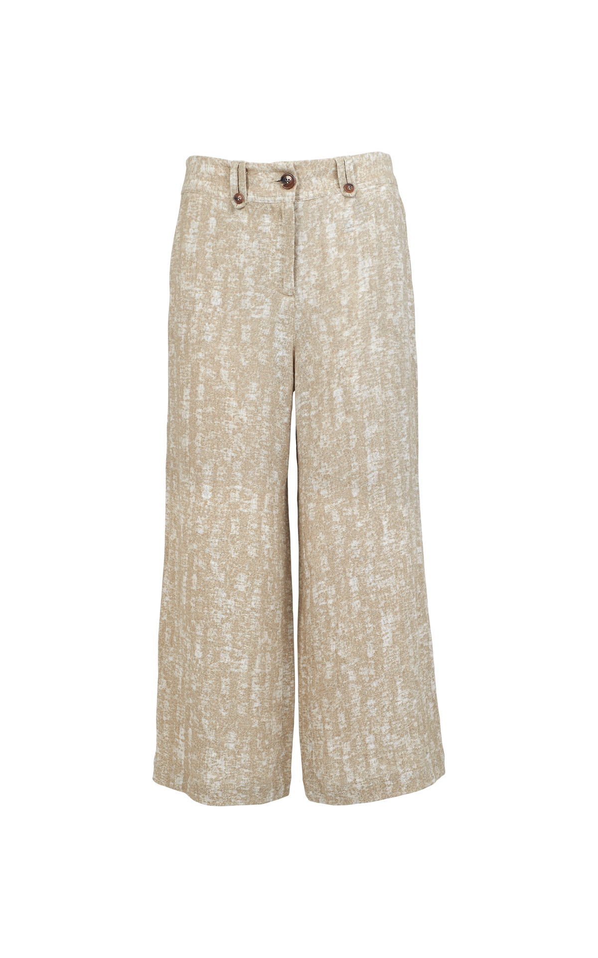Beige linen trousers Adolfo Dominguez