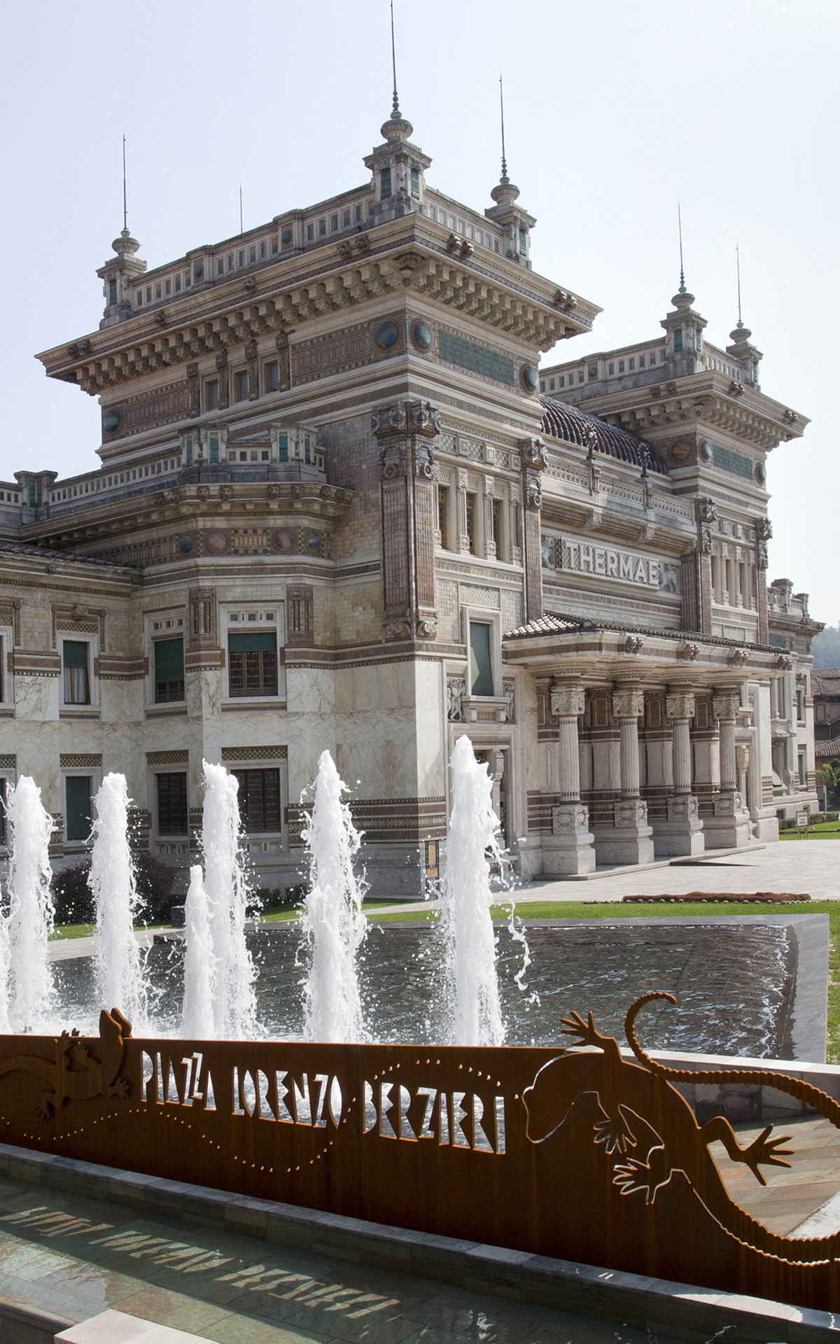 Salsomaggiore thermal baths for Fidenza Village