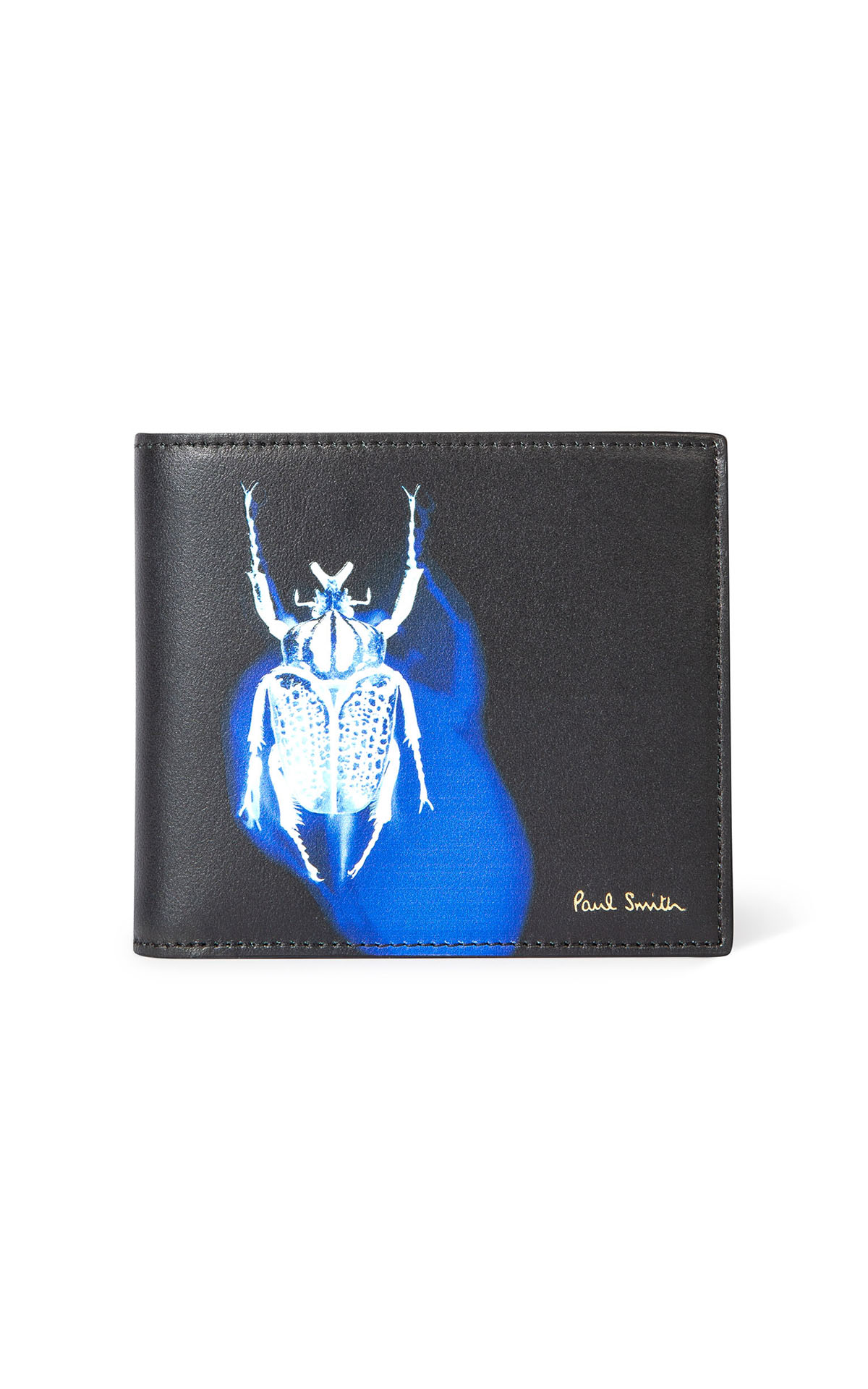 Paul Smith Men's black 'goliath beetle' wallet at The Bicester Village Shopping Collection