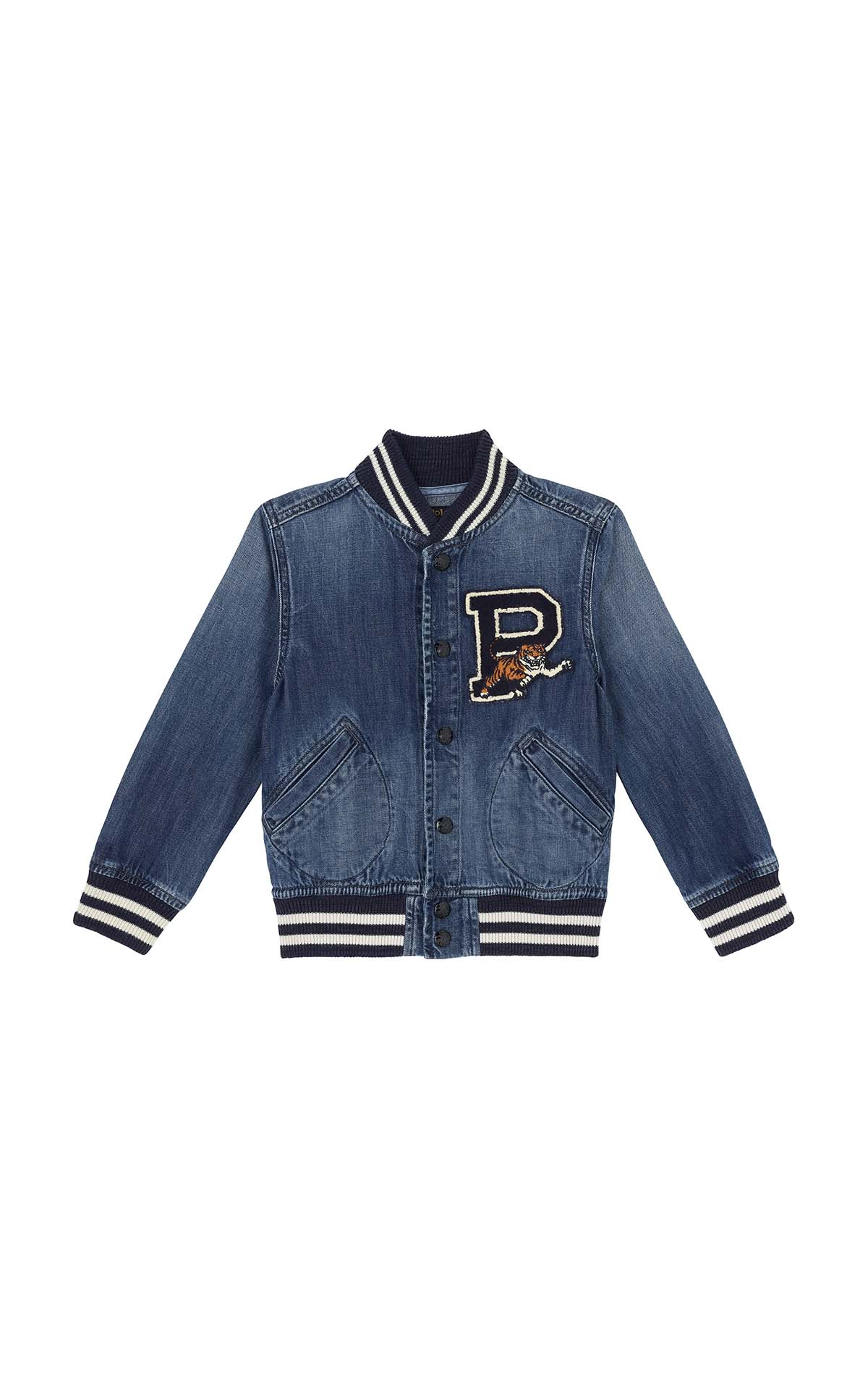 Polo Ralph Lauren Children Baseball jacket at The Bicester Village Shopping Collection