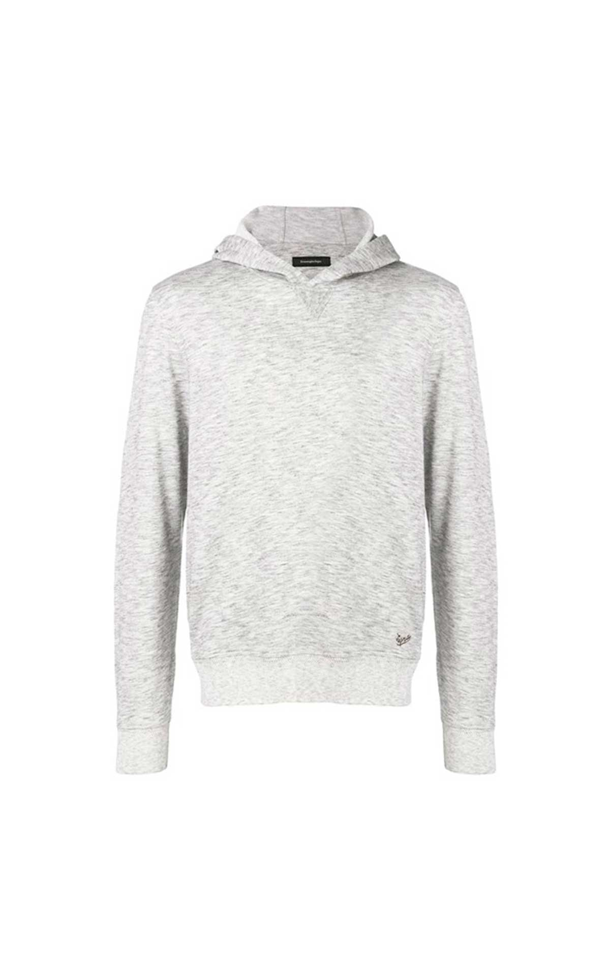 Grey cotton sweatshirt for man Ermenegildo Zegna