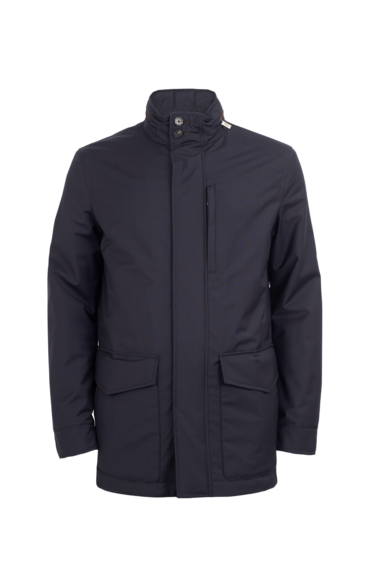 Navy blue coat for man Ermenegildo Zegna
