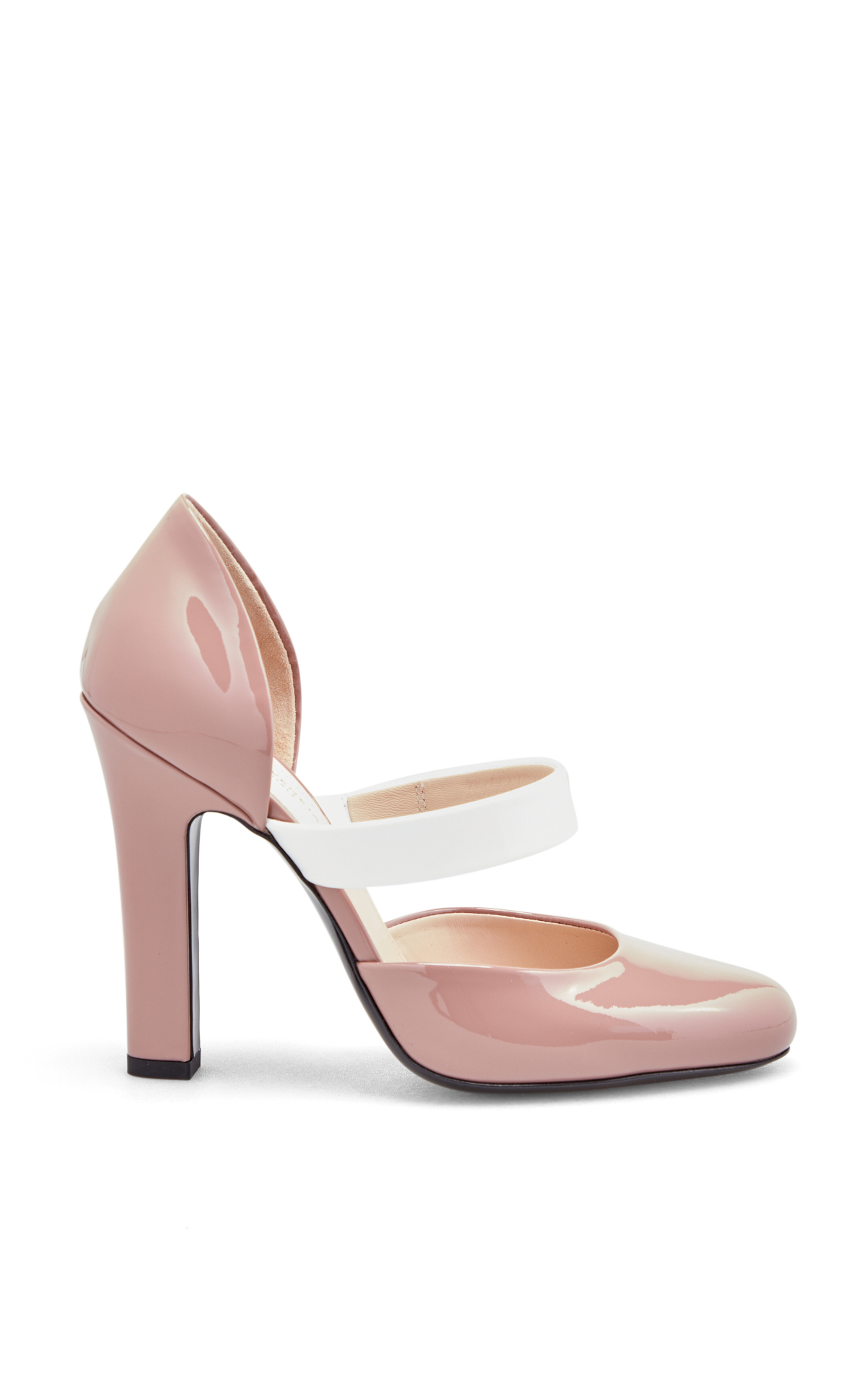 Bottega Veneta Pink patent shoes