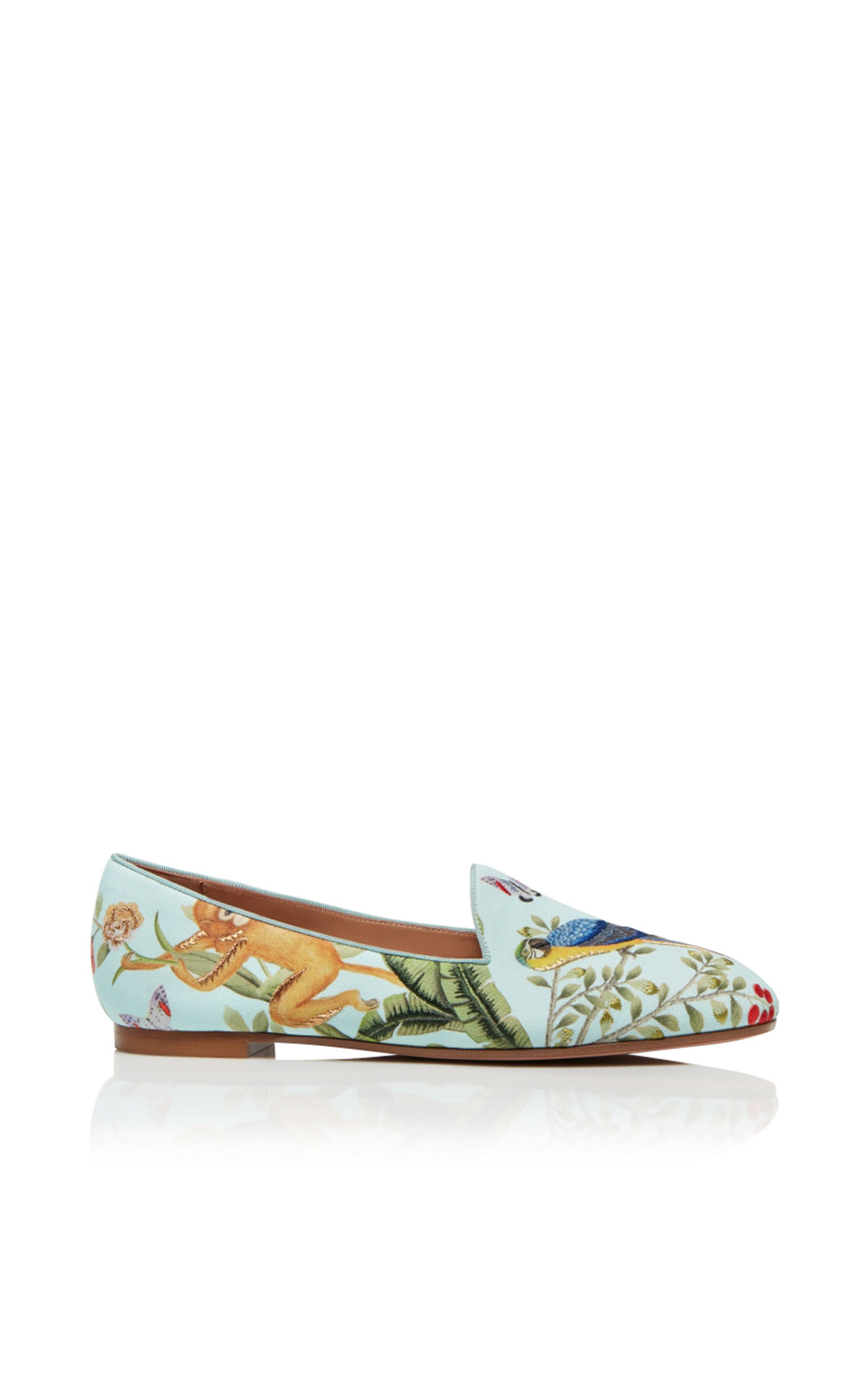 Aquazzura Amazonia de gournay loafer from Bicester Village