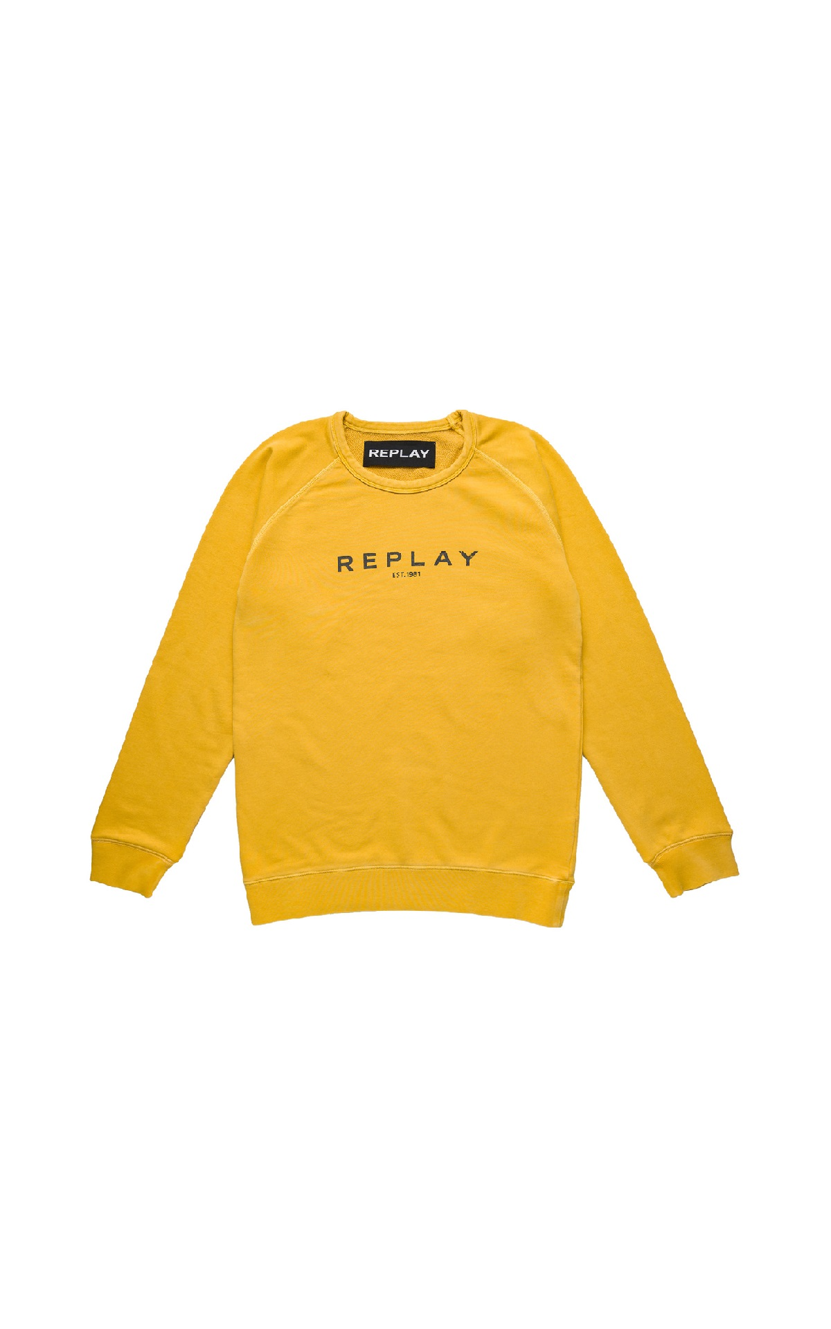 Yellow sweathirt Replay