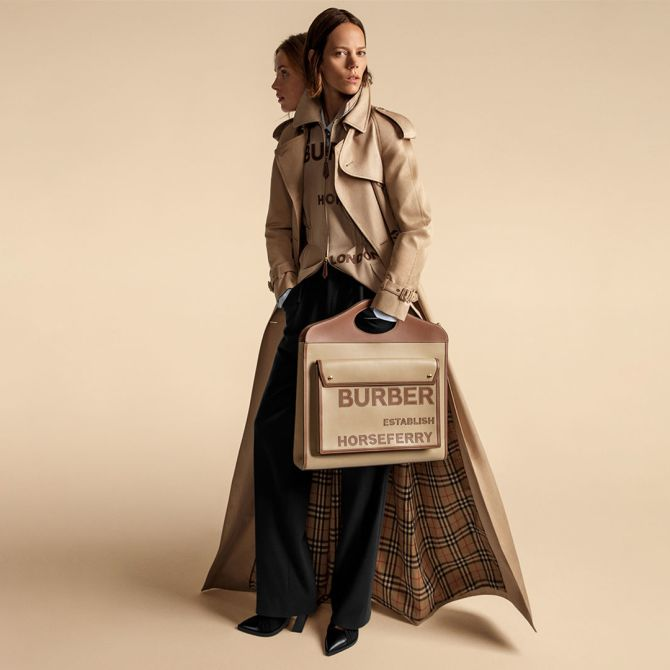 Burberry main image beige coat