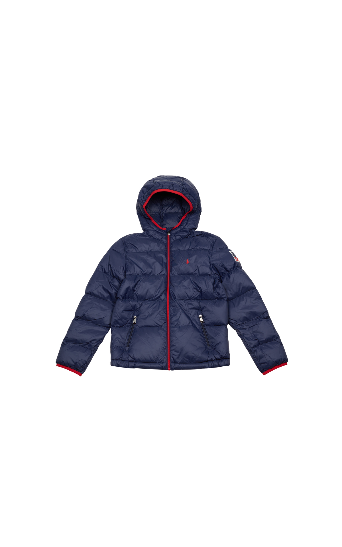 Polo Ralph Lauren Children's Lightweight Pocket Down Jacket at The Bicester Village Shopping Collection