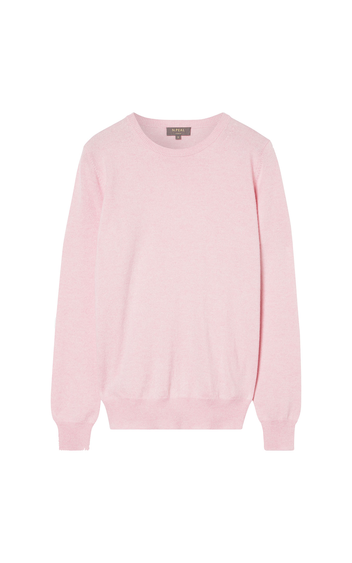 N.Peal Round neck sweater pink from Bicester Village
