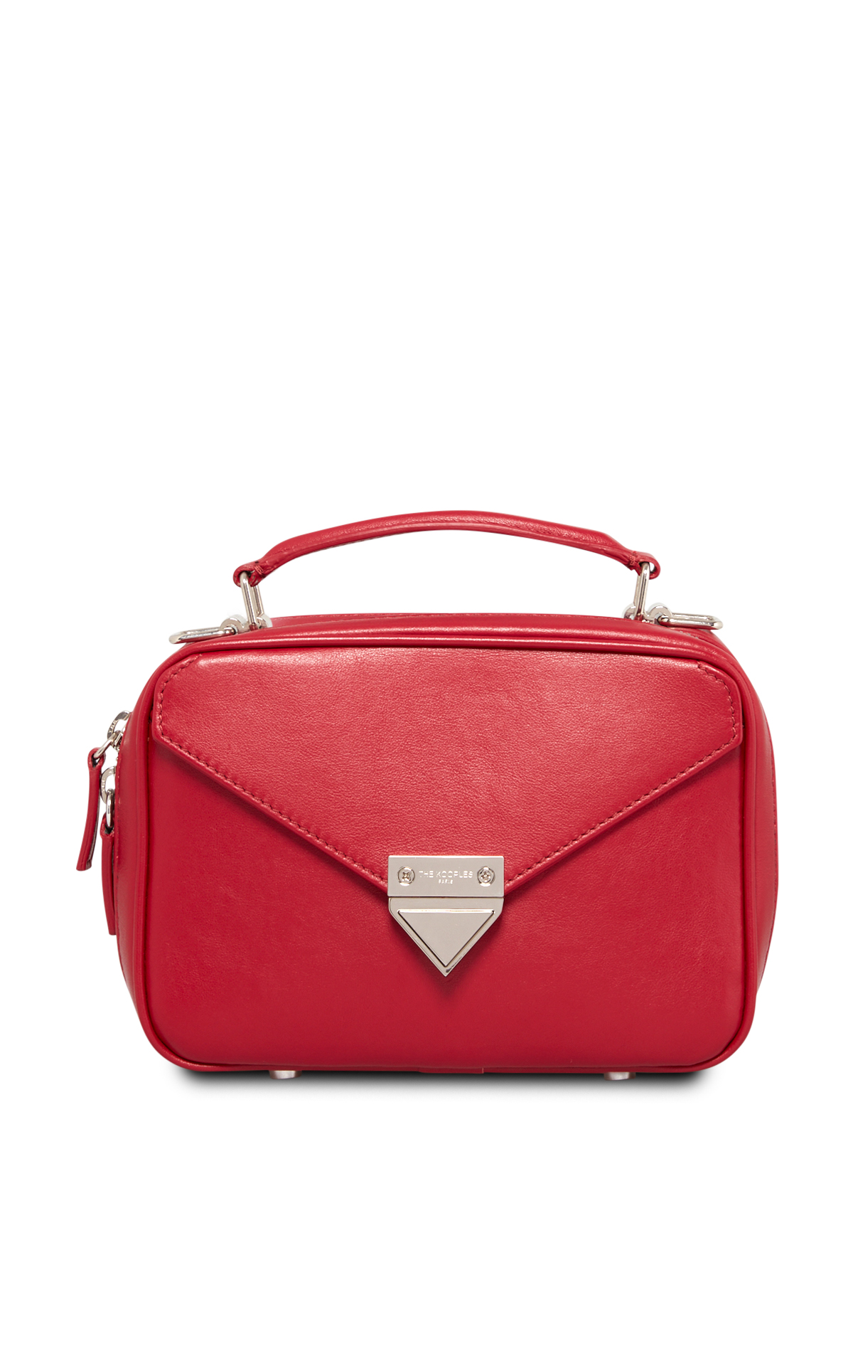The Kooples Sac Barbara moyen rouge*