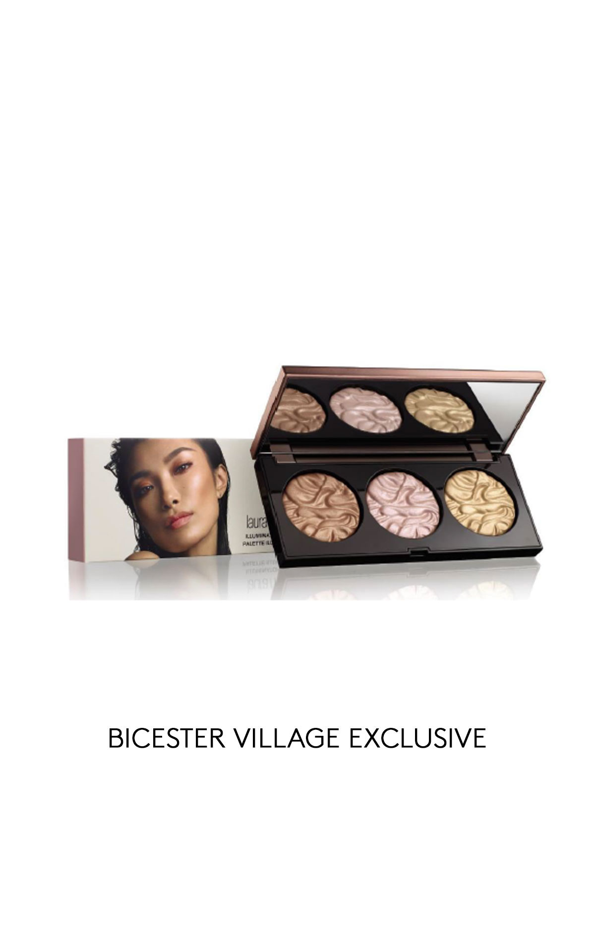 Beauté Prestige International Laura Mercier Mood lights face illuminator trio from Bicester Village