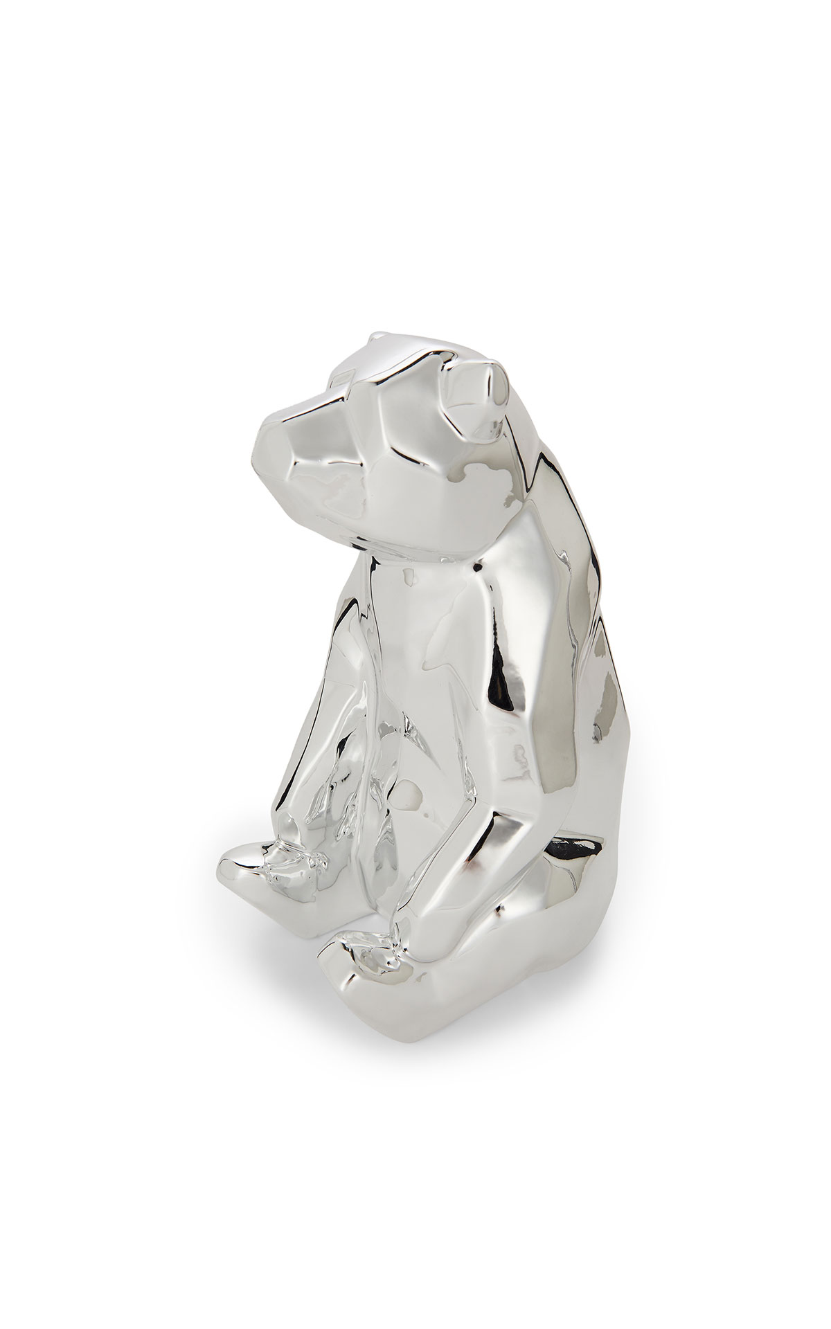 Ted Baker's polar bear money box at the Bicester Village Shopping Collection