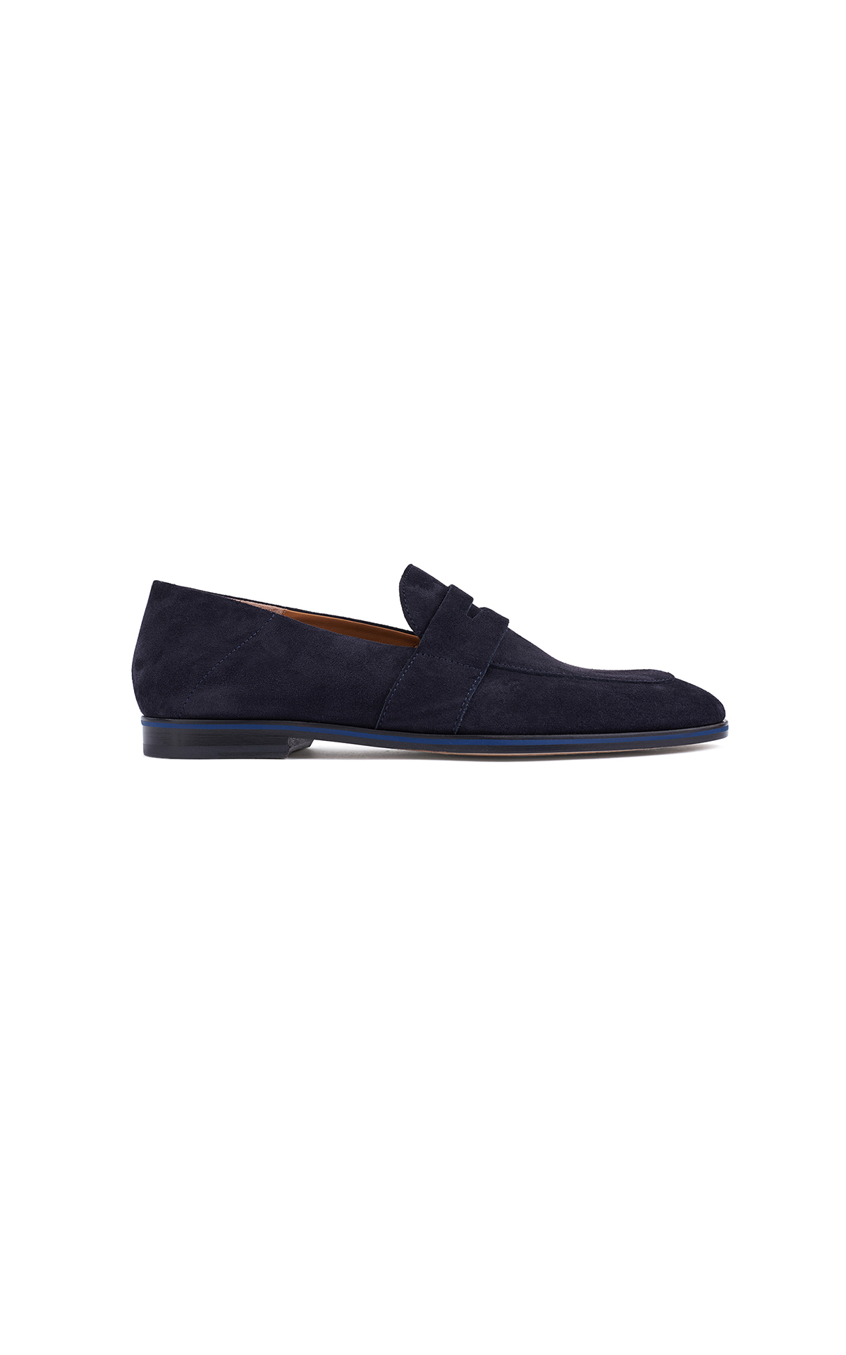 BOSS Men's Italian-made loafers at The Bicester Village Shopping Collection