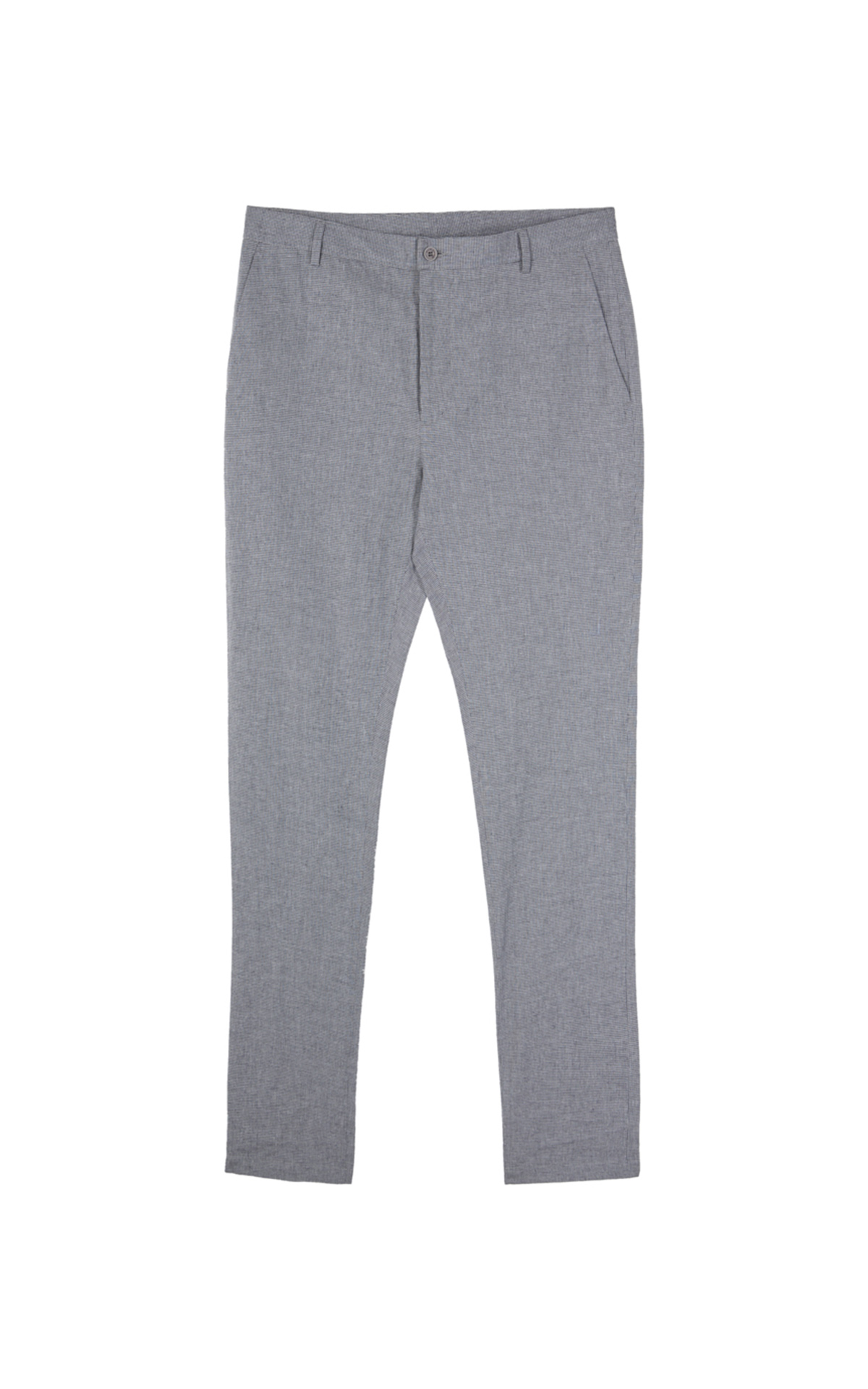Grey linen trousers Adolfo Dominguez