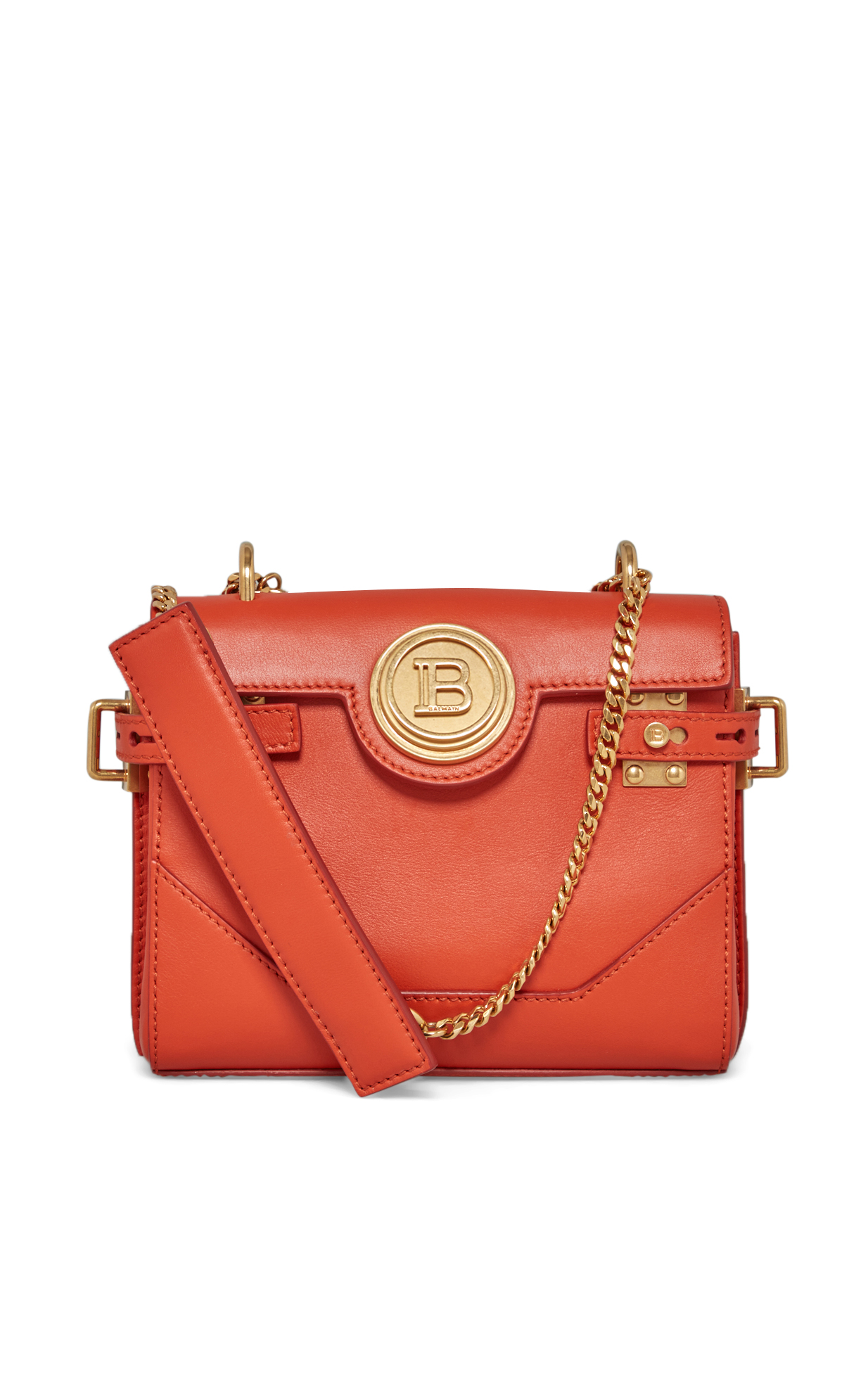 Balmain Mini orange BBuzz bag