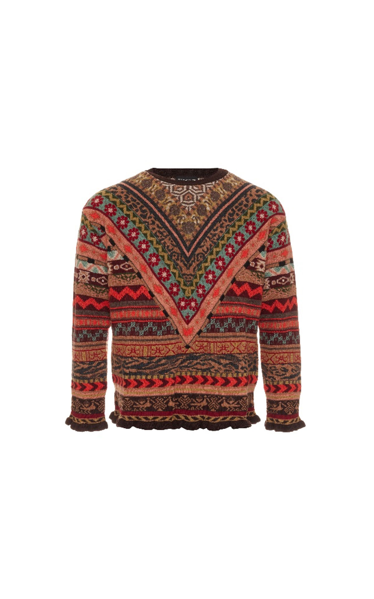 Etro Brown knitwear from Bicester Village
