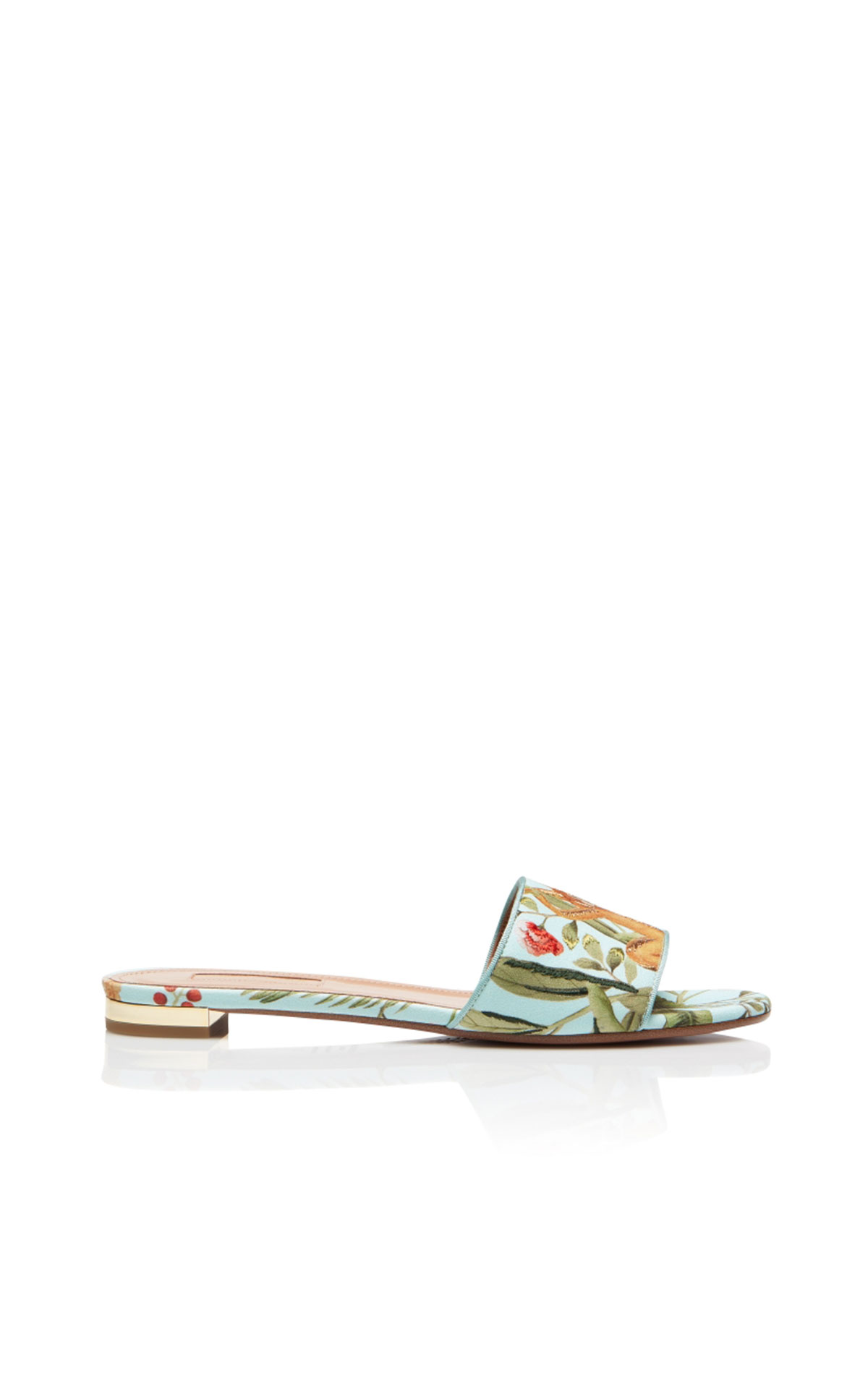 Aquazzura De gournay slide aqua from Bicester Village