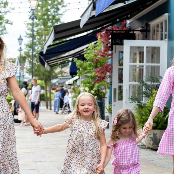 Virtual shopping with Chloe Delevingne at Bicester Village