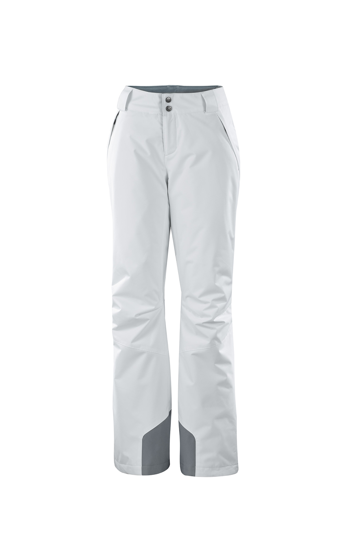 White ski pants Columbia