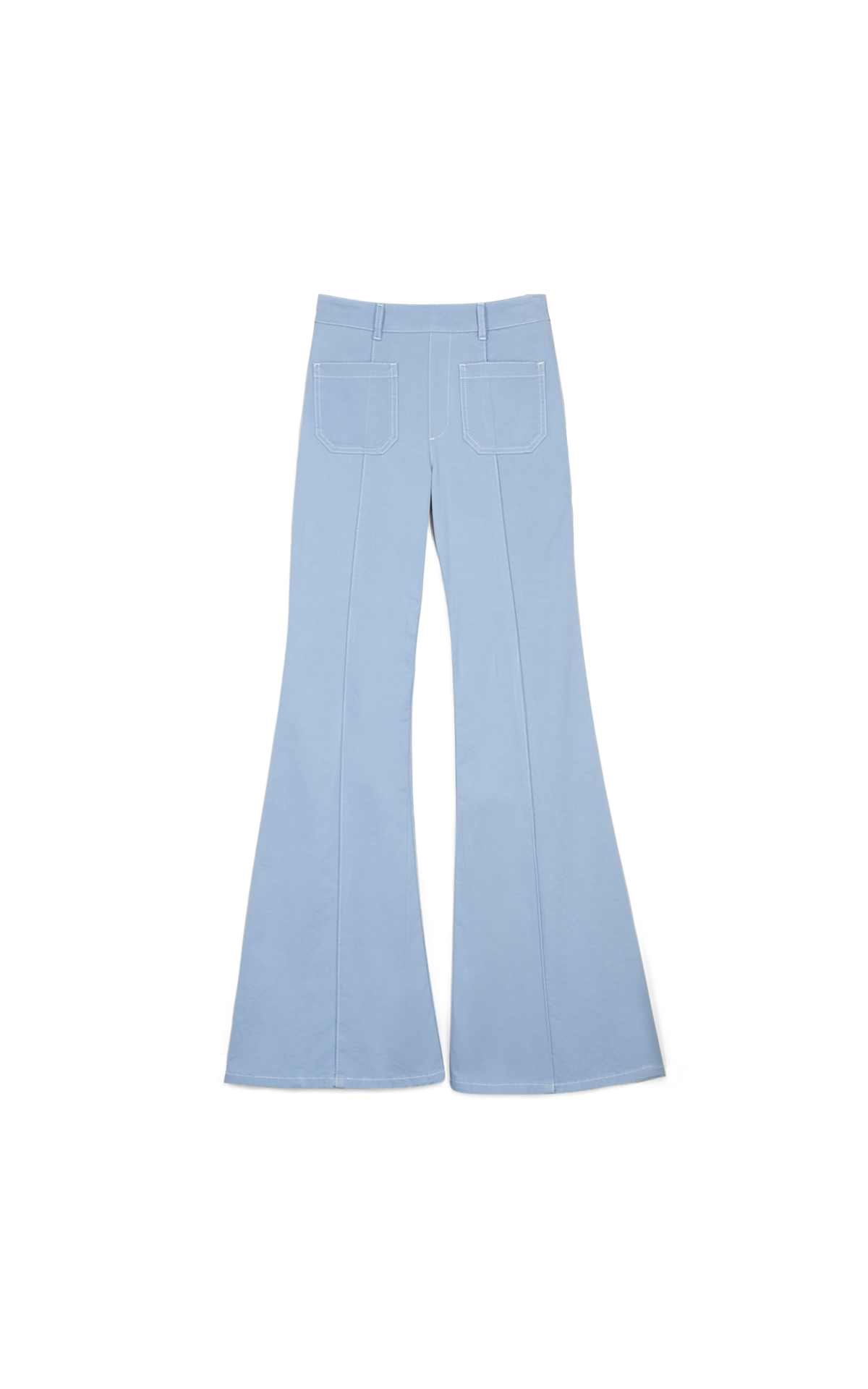 Chloé Denim flared trousers